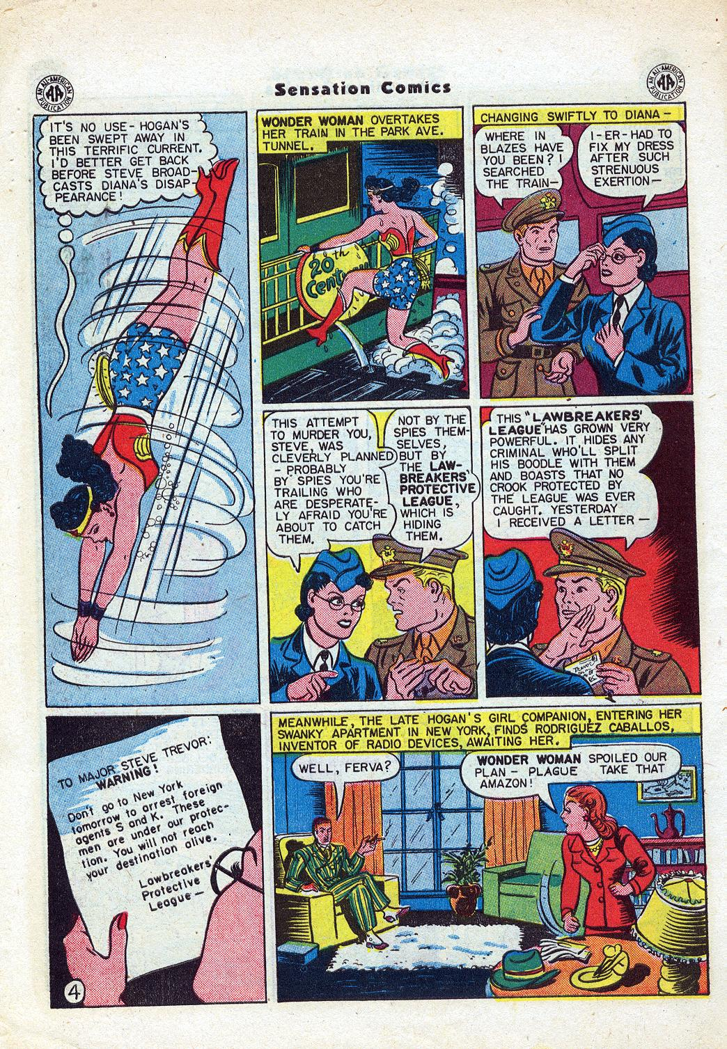 Read online Sensation (Mystery) Comics comic -  Issue #46 - 6