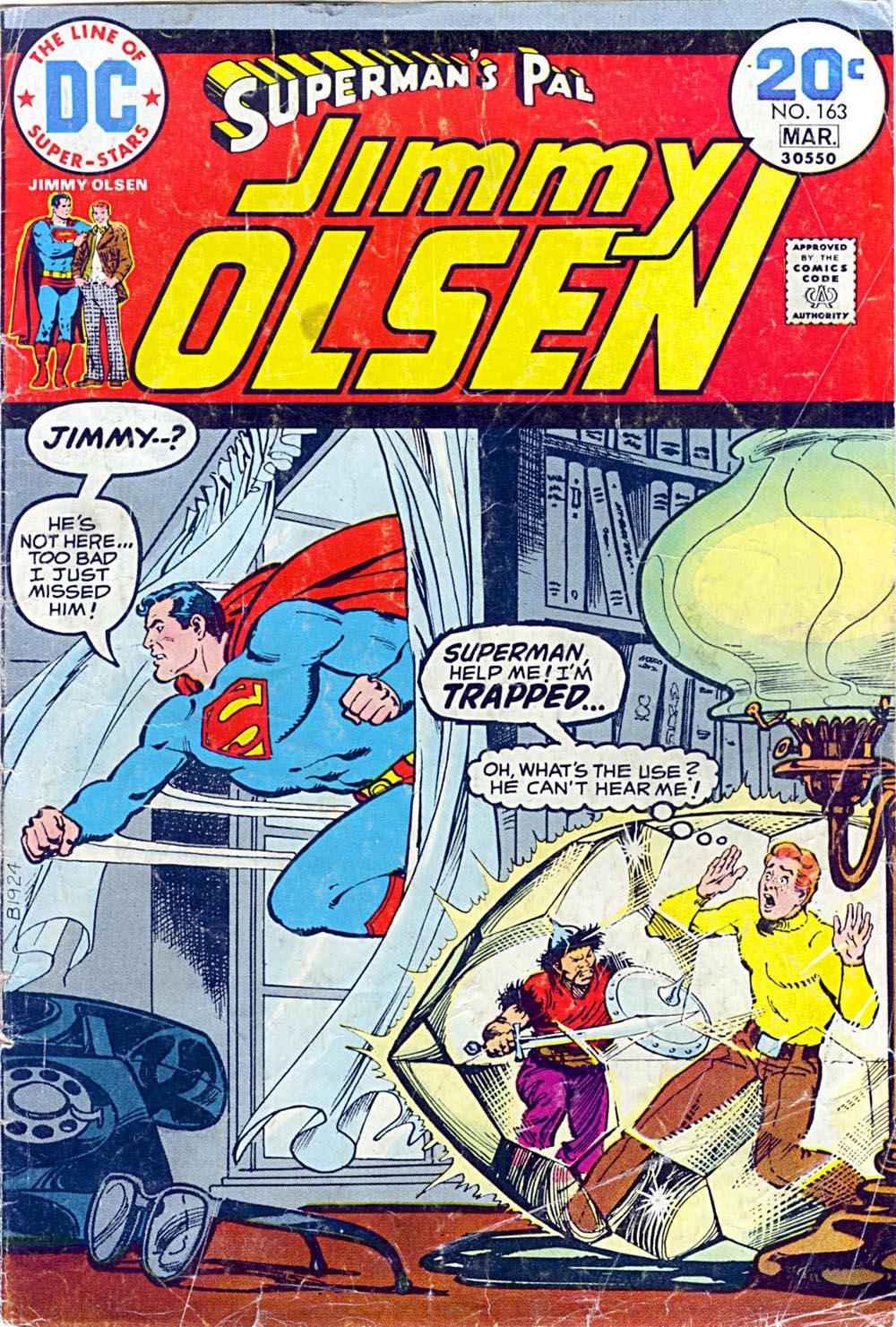 Supermans Pal Jimmy Olsen (1954) 163 Page 1