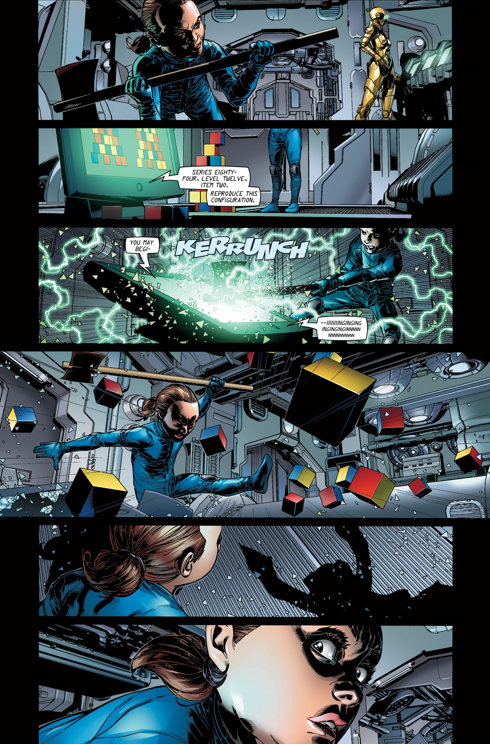 Read online Ultimate Vision comic -  Issue #3 - 11
