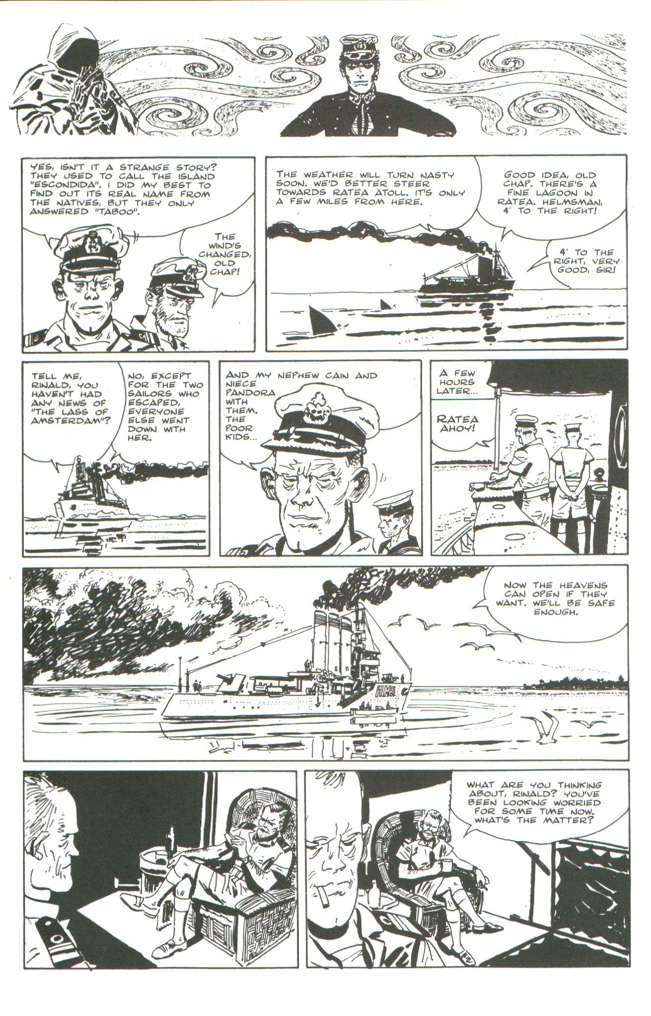 Read online Corto Maltese: Ballad of the Salt Sea comic -  Issue #4 - 22