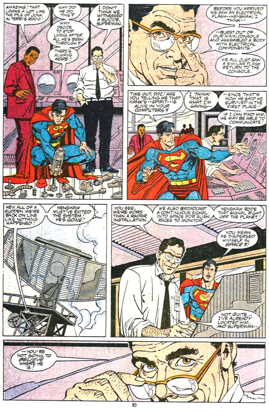 Read online Adventures of Superman (1987) comic -  Issue #468 - 17