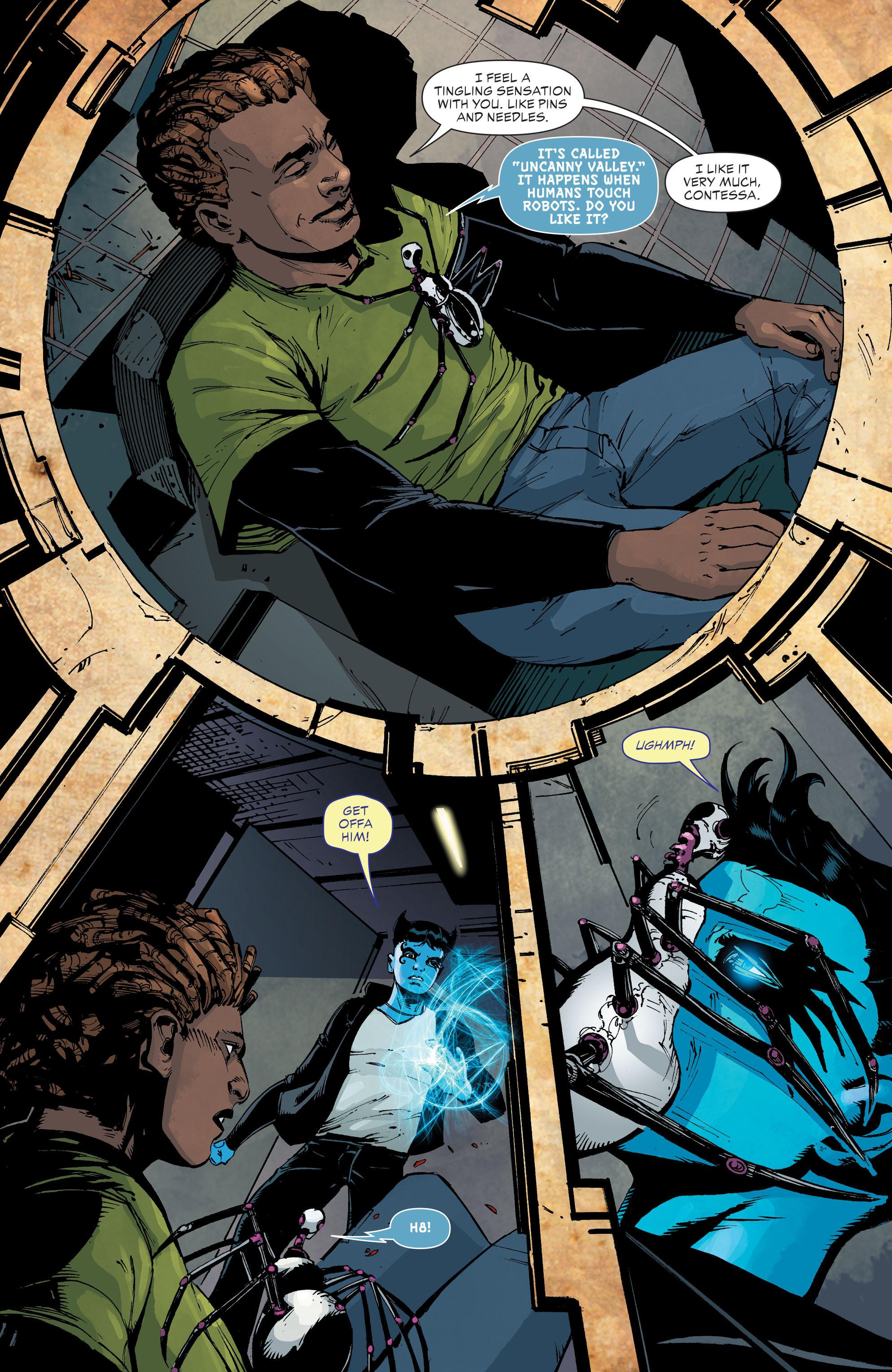 Read online Klarion comic -  Issue #3 - 4