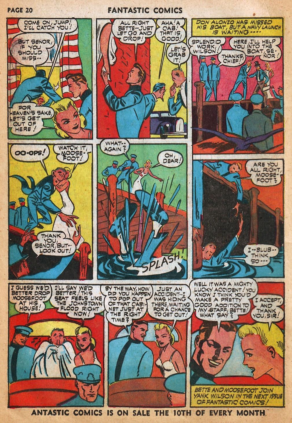 Read online Fantastic Comics comic -  Issue #22 - 22