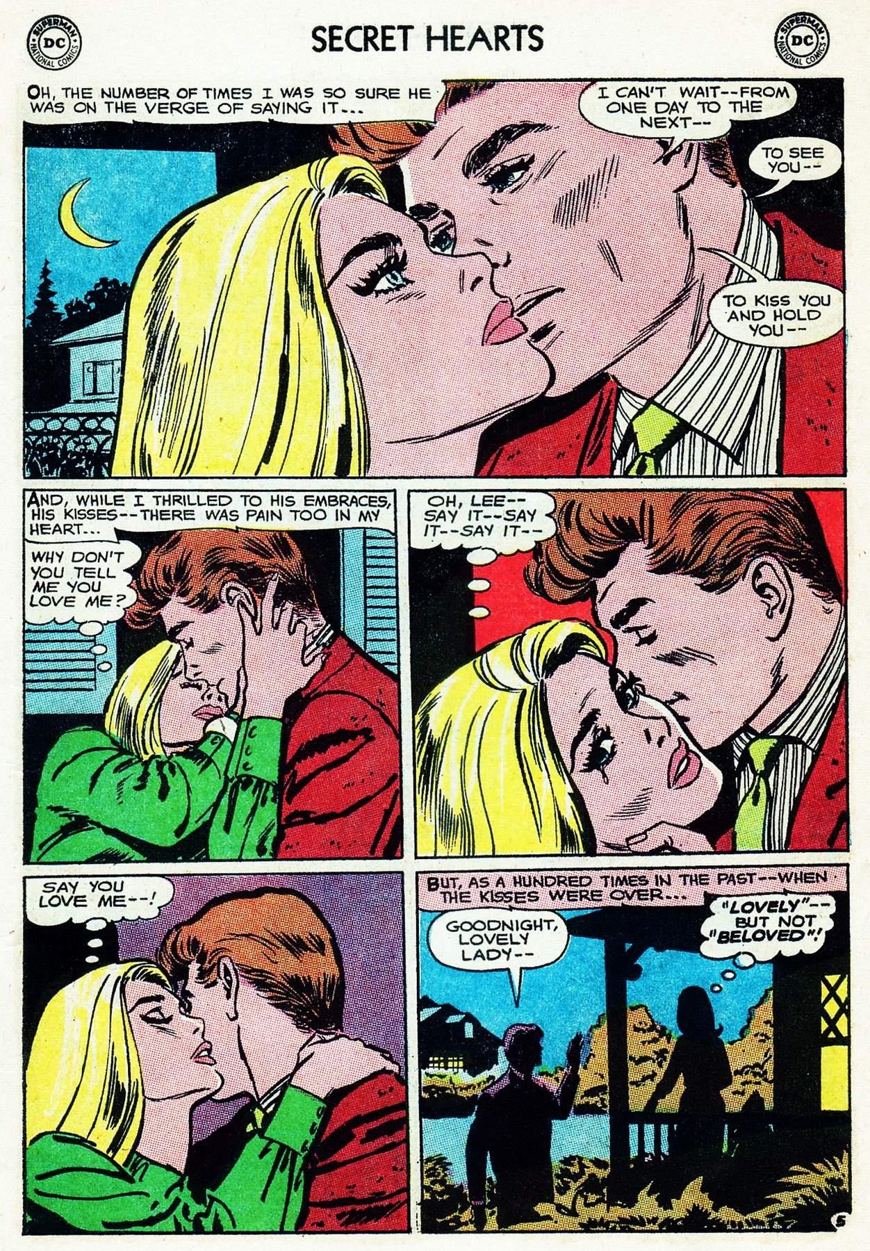 Read online Secret Hearts comic -  Issue #105 - 7