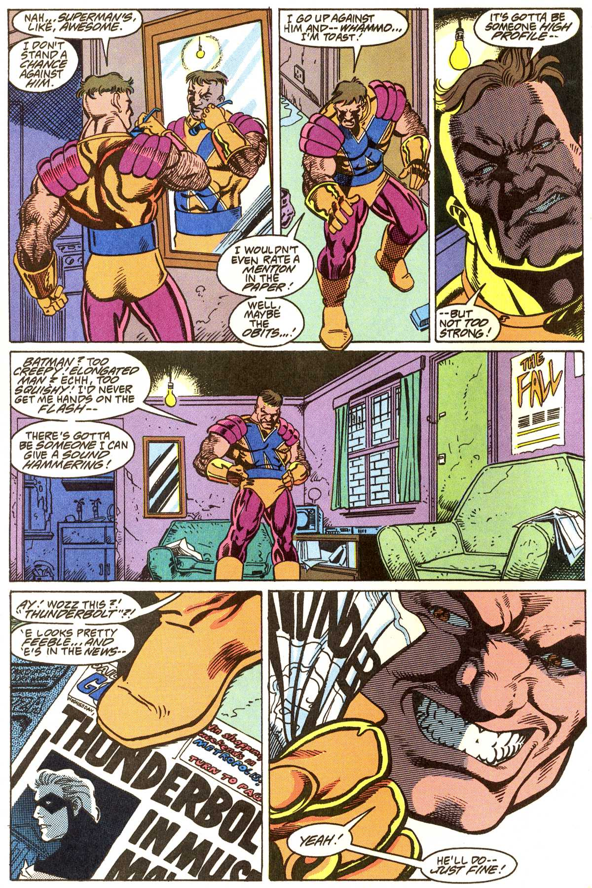 Read online Peter Cannon--Thunderbolt (1992) comic -  Issue #5 - 3