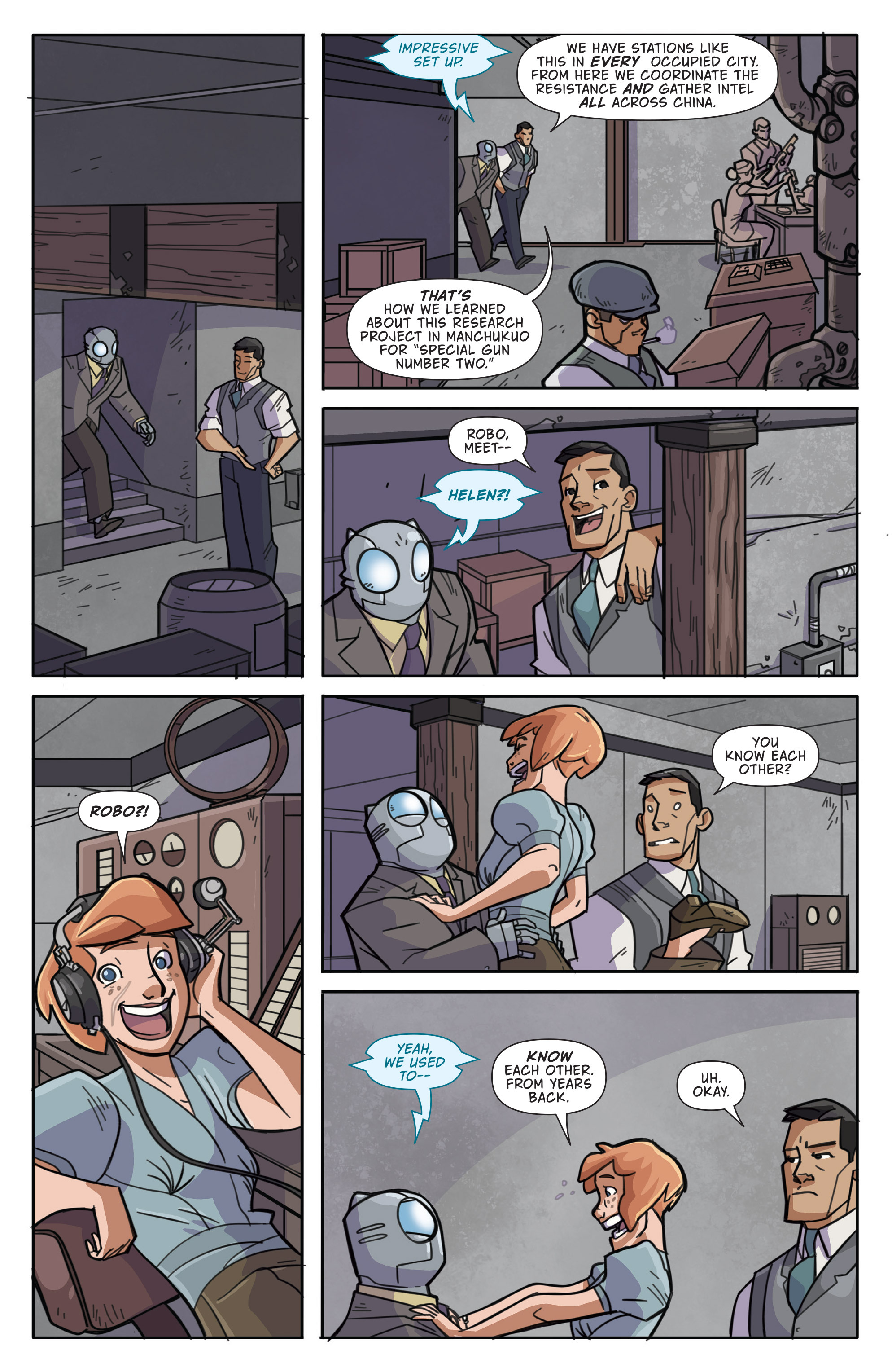 Read online Atomic Robo and the Temple of Od comic -  Issue #1 - 17