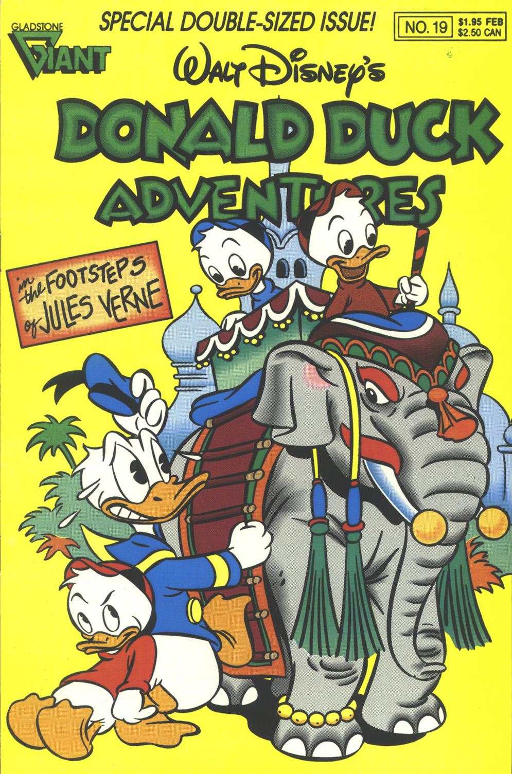 Walt Disney's Donald Duck Adventures (1987) issue 19 - Page 1