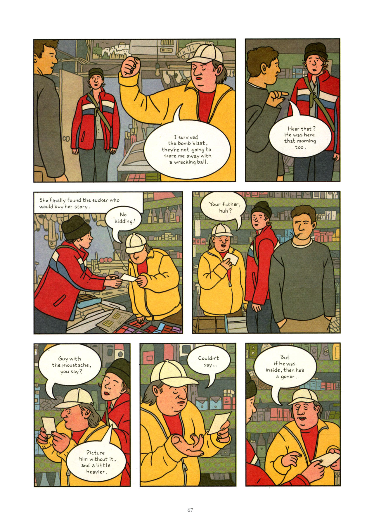 Read online Exit Wounds comic -  Issue # TPB - 68