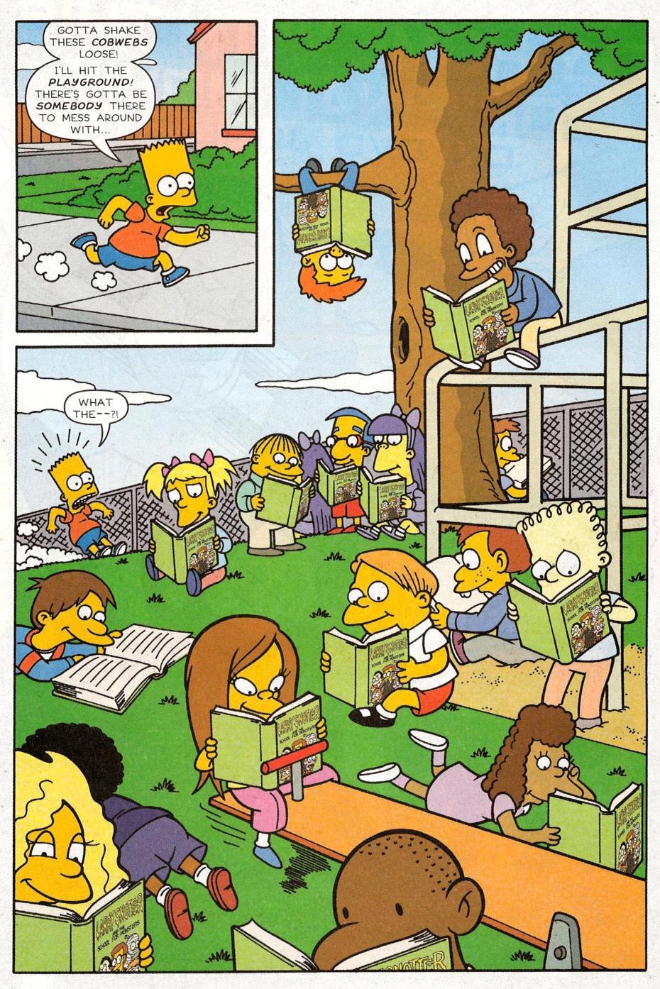 Read online Simpsons Comics Presents Bart Simpson comic -  Issue #30 - 6