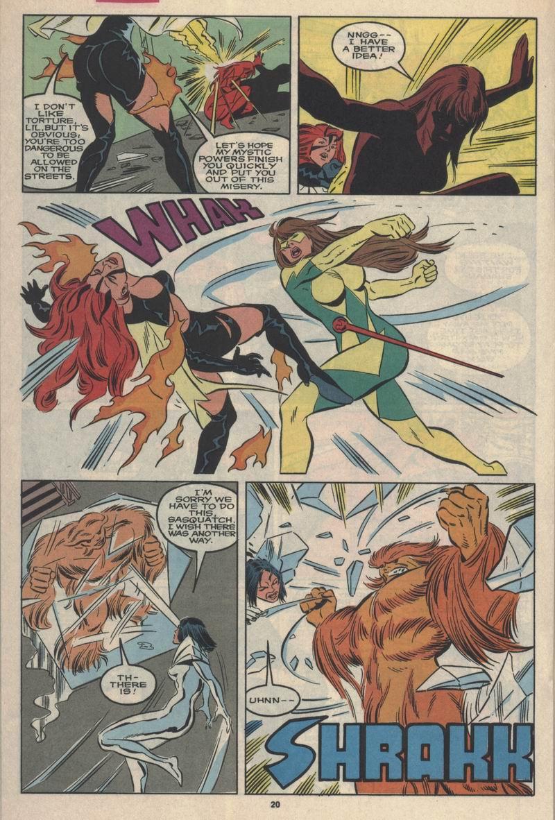 Read online Alpha Flight (1983) comic -  Issue #84 - 16