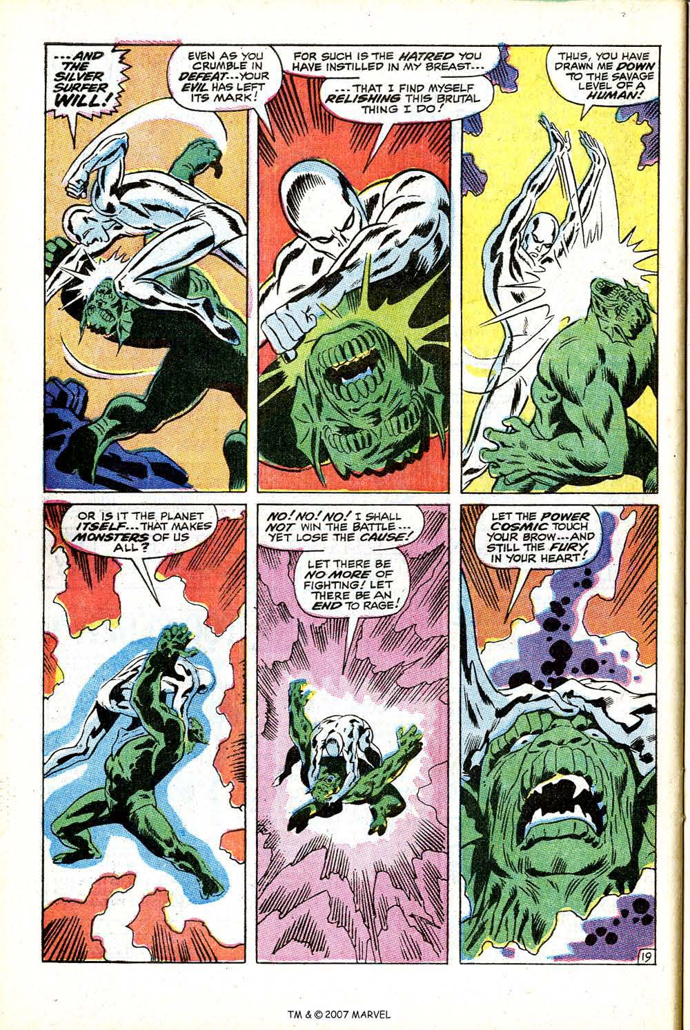 Read online Silver Surfer (1968) comic -  Issue #12 - 28