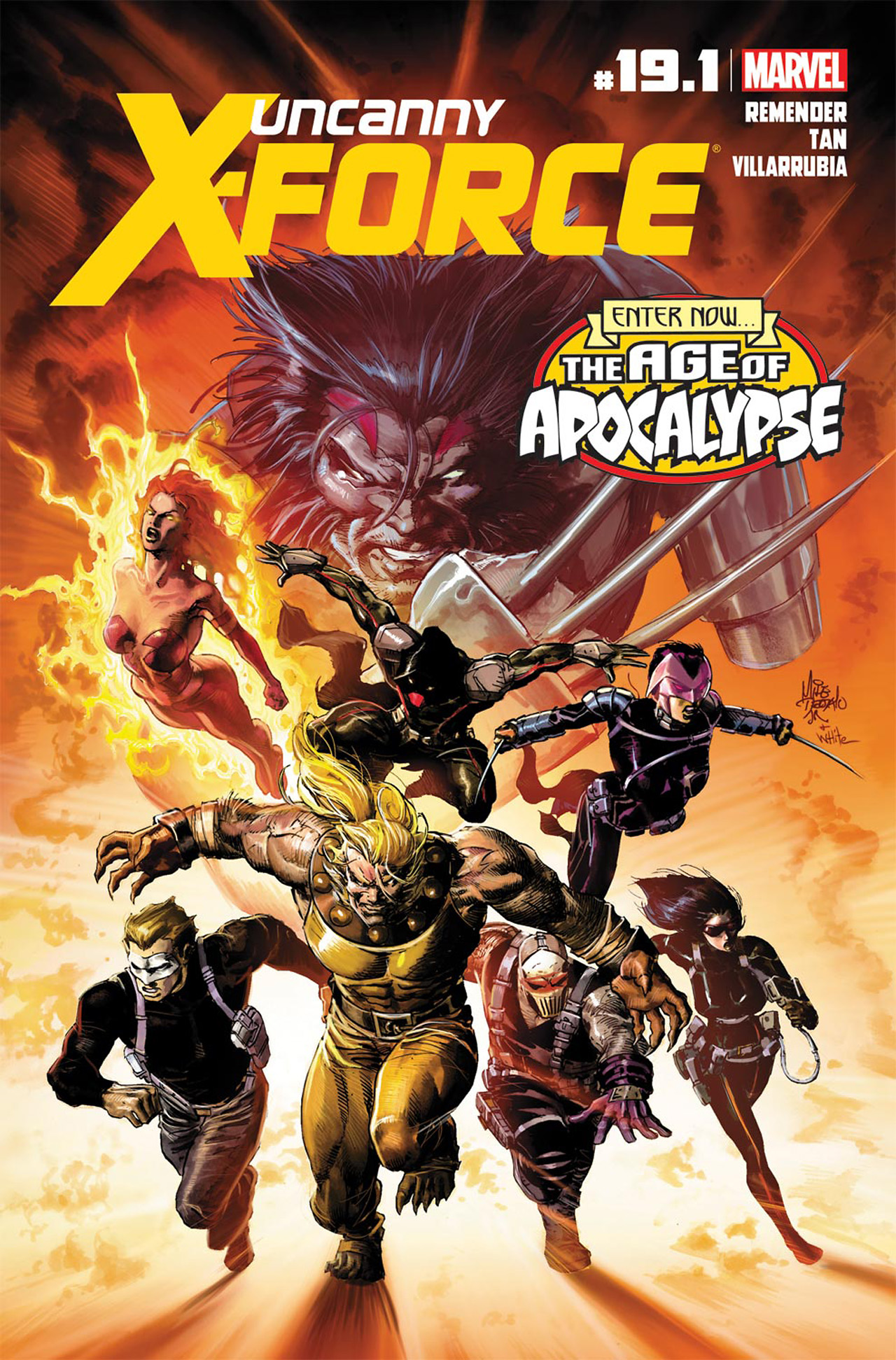 Read online Uncanny X-Force (2010) comic -  Issue #19.1 - 1