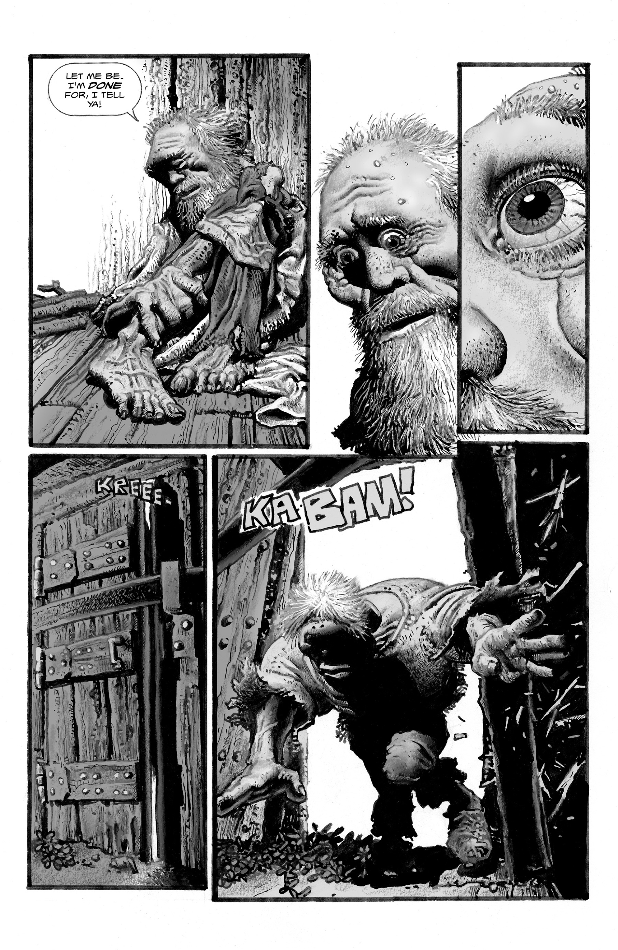 Read online Shadows on the Grave comic -  Issue #2 - 14
