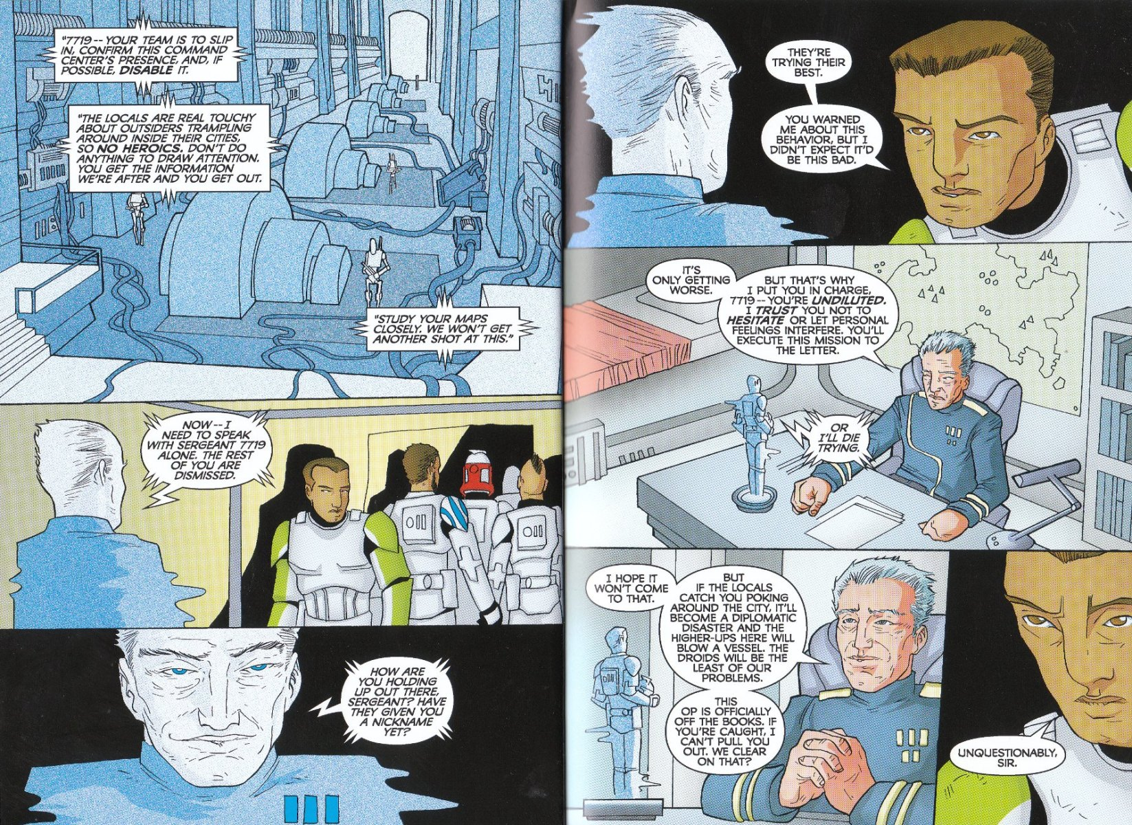 Read online Star Wars: The Clone Wars - The Enemy Within comic -  Issue # Full - 15