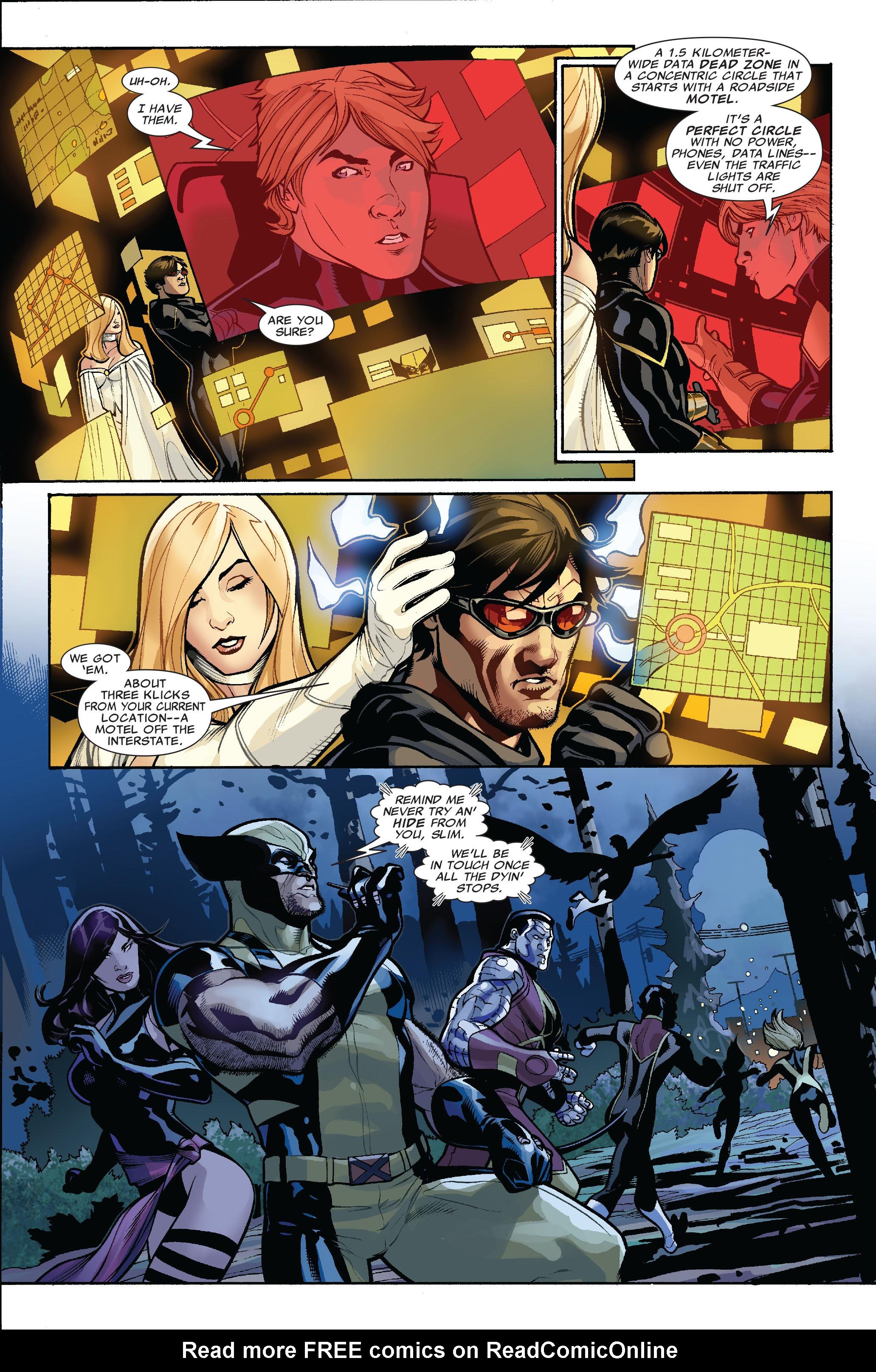 Read online Uncanny X-Men (1963) comic -  Issue #523 - 19