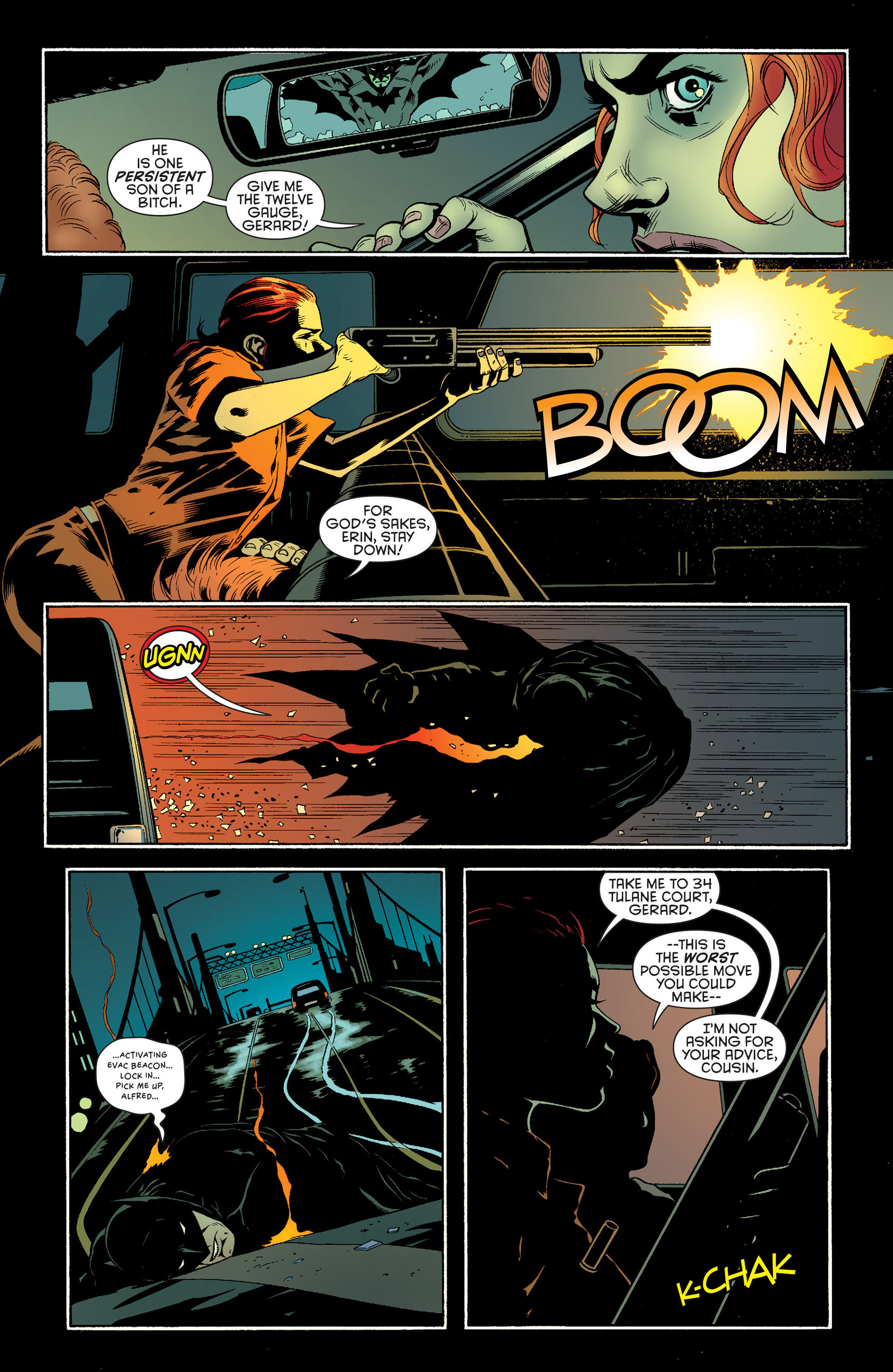 Read online Batman and Robin (2011) comic -  Issue #25 - Batman and Two-Face - 10