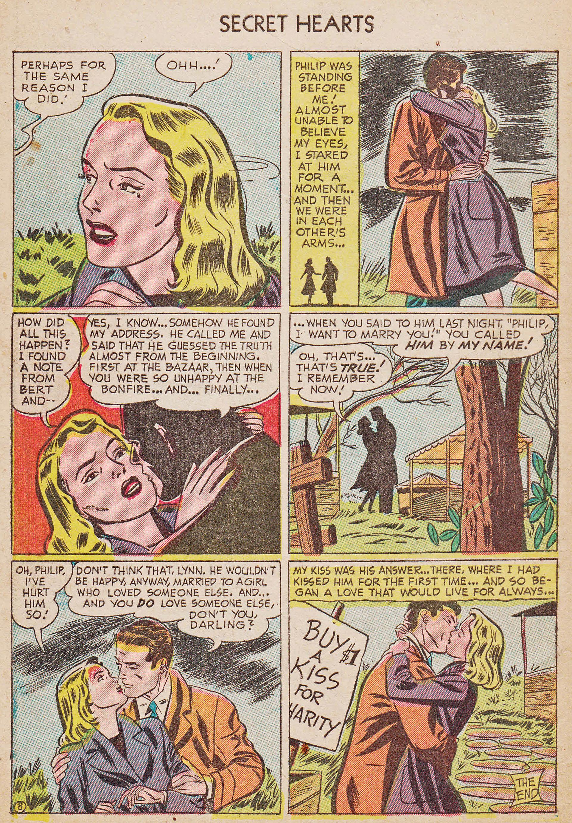 Read online Secret Hearts comic -  Issue #7 - 34