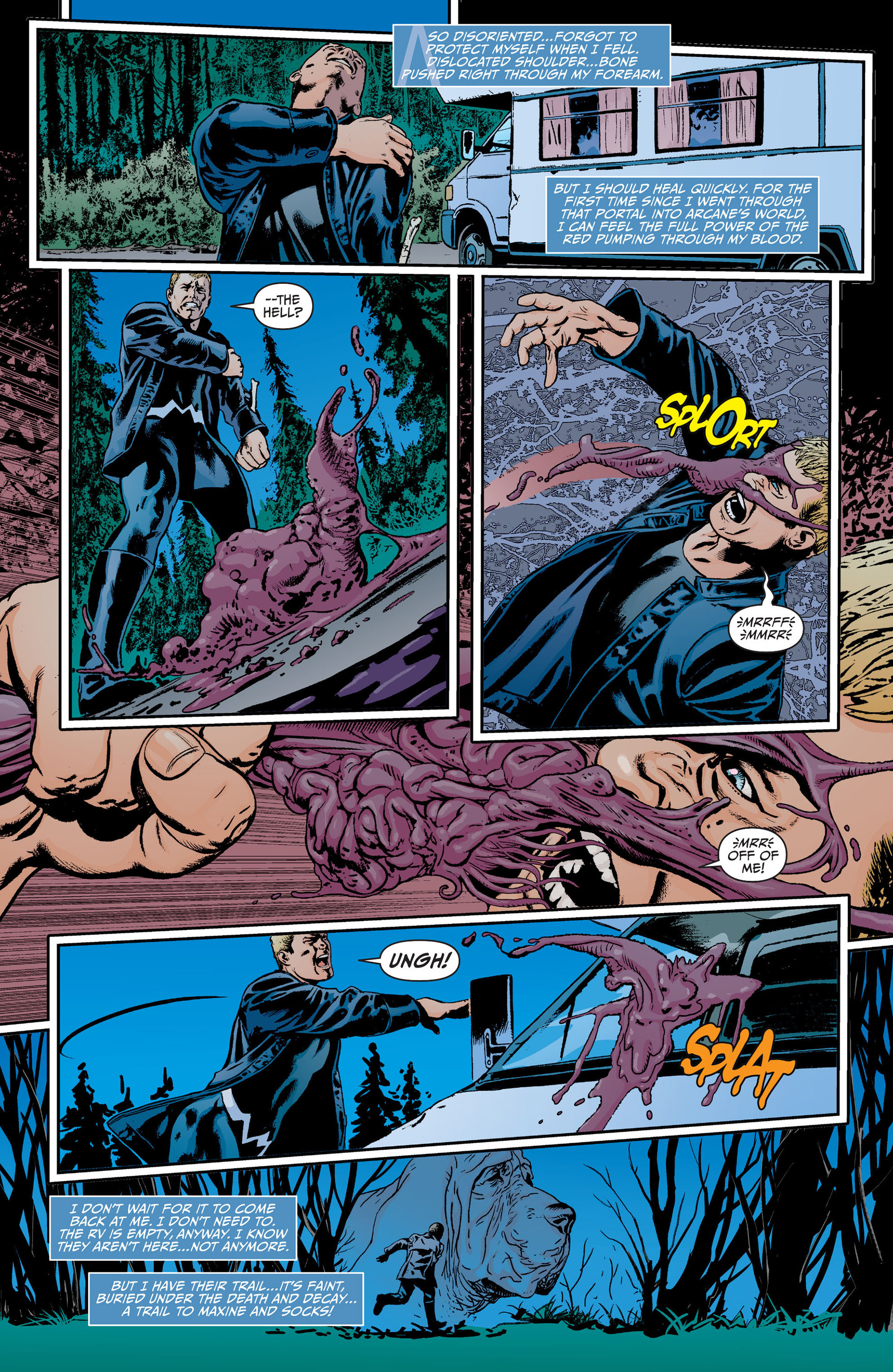 Read online Animal Man (2011) comic -  Issue #18 - 5
