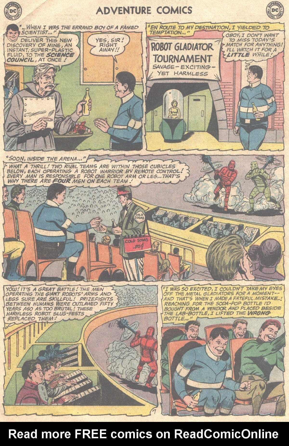 Read online Adventure Comics (1938) comic -  Issue #498 - 18