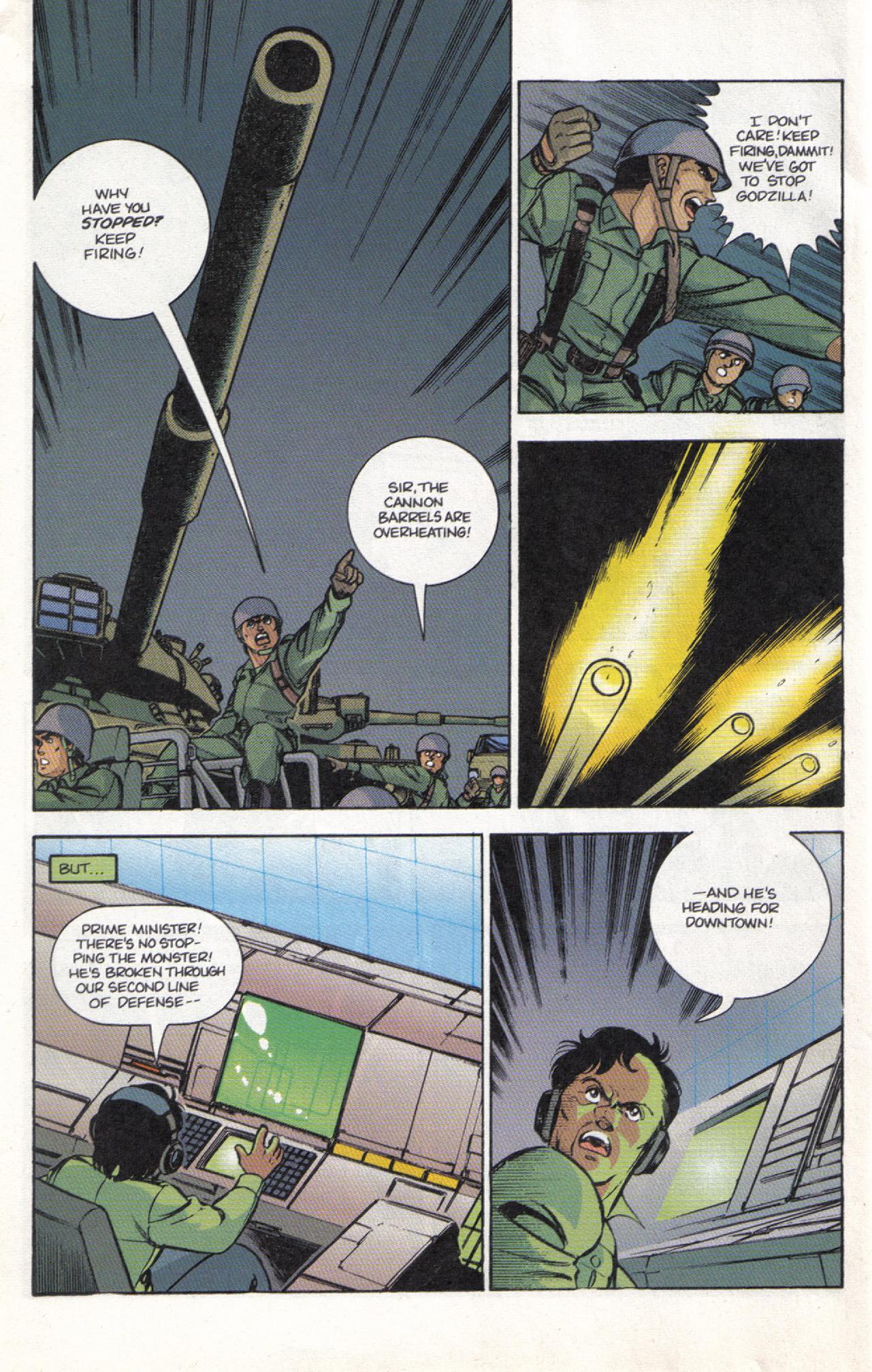Read online Dark Horse Classics: Terror of Godzilla comic -  Issue #3 - 24