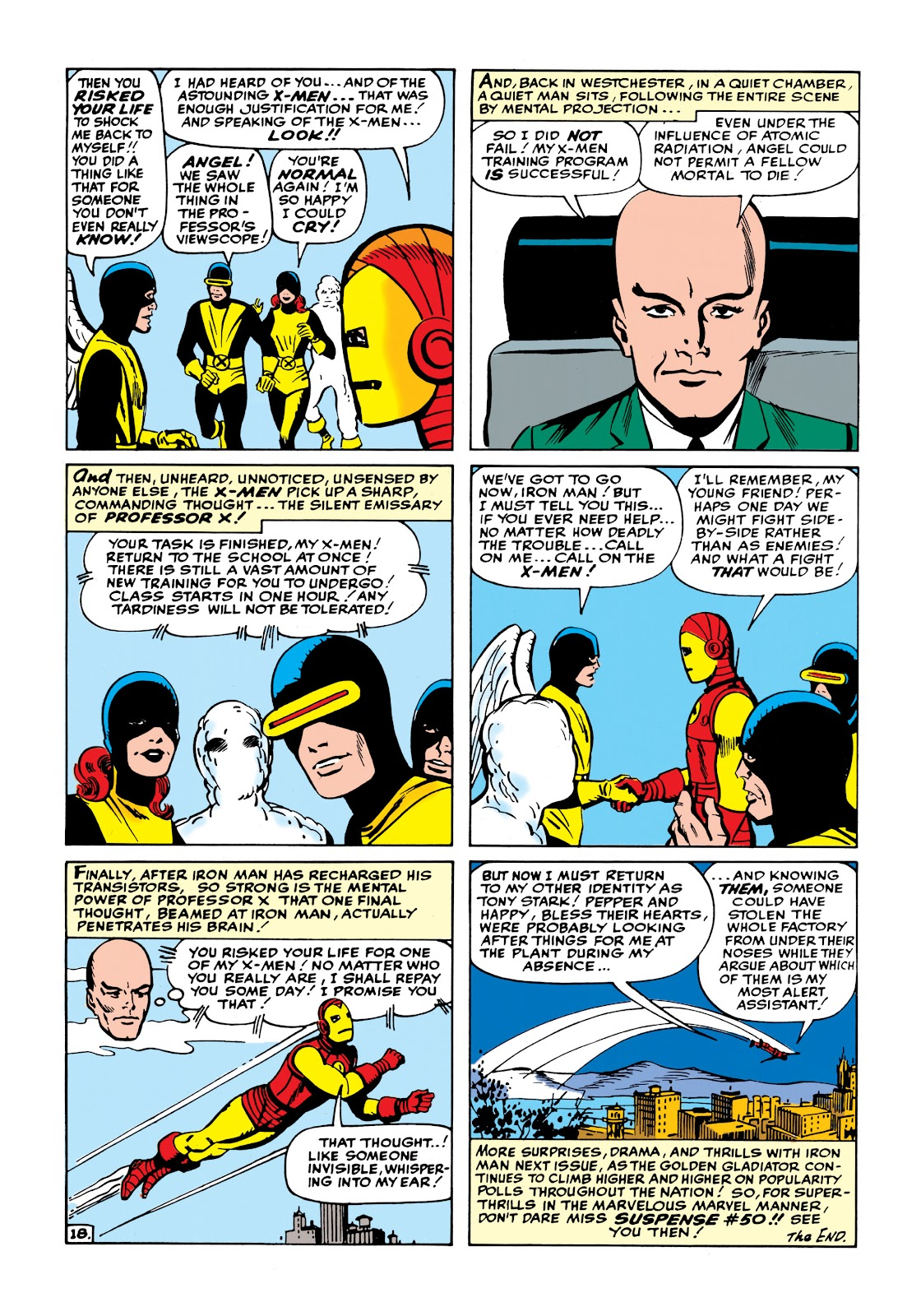 Read online Marvel Masterworks: The Invincible Iron Man comic -  Issue # TPB 1 (Part 2) - 76