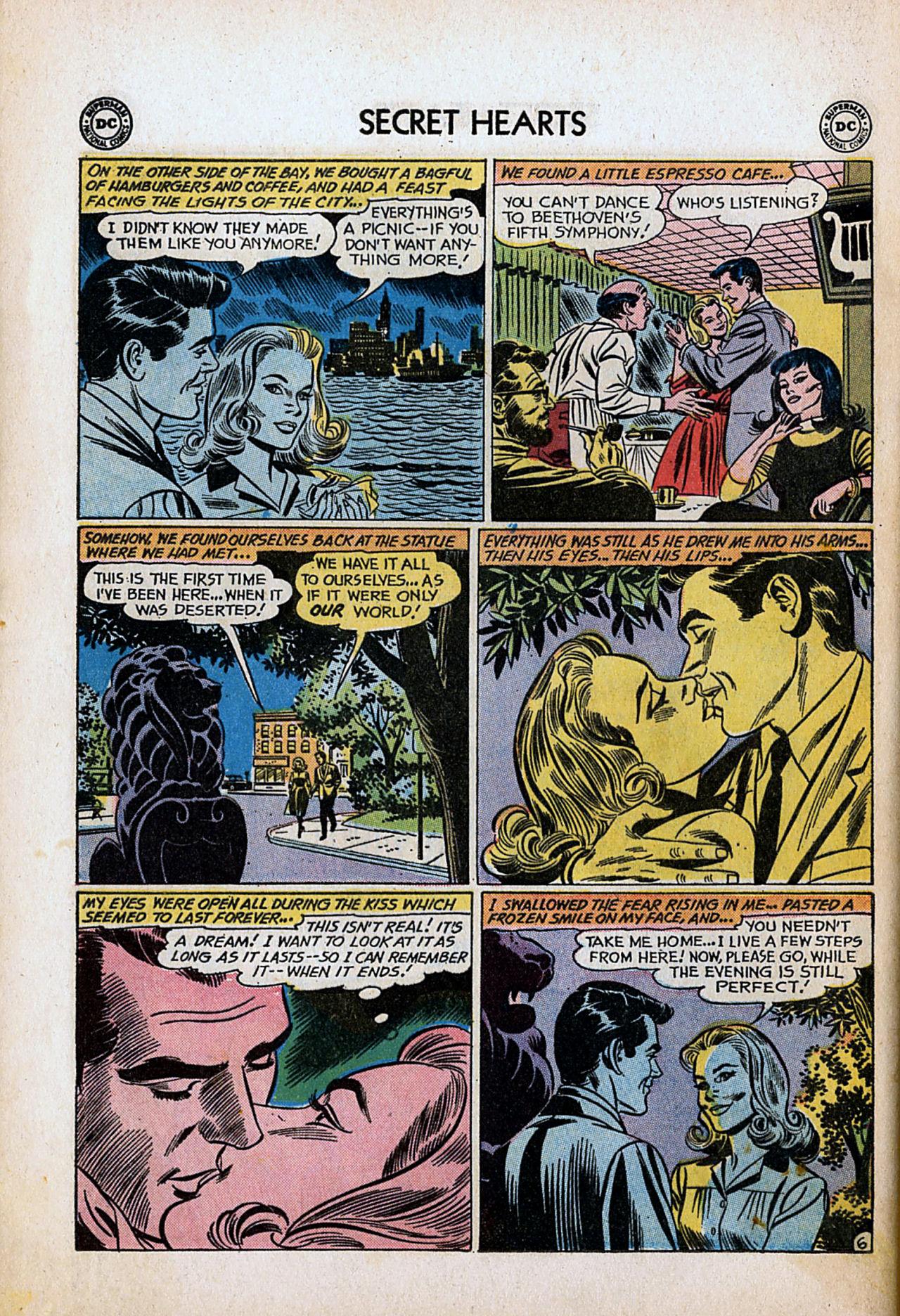 Read online Secret Hearts comic -  Issue #80 - 32