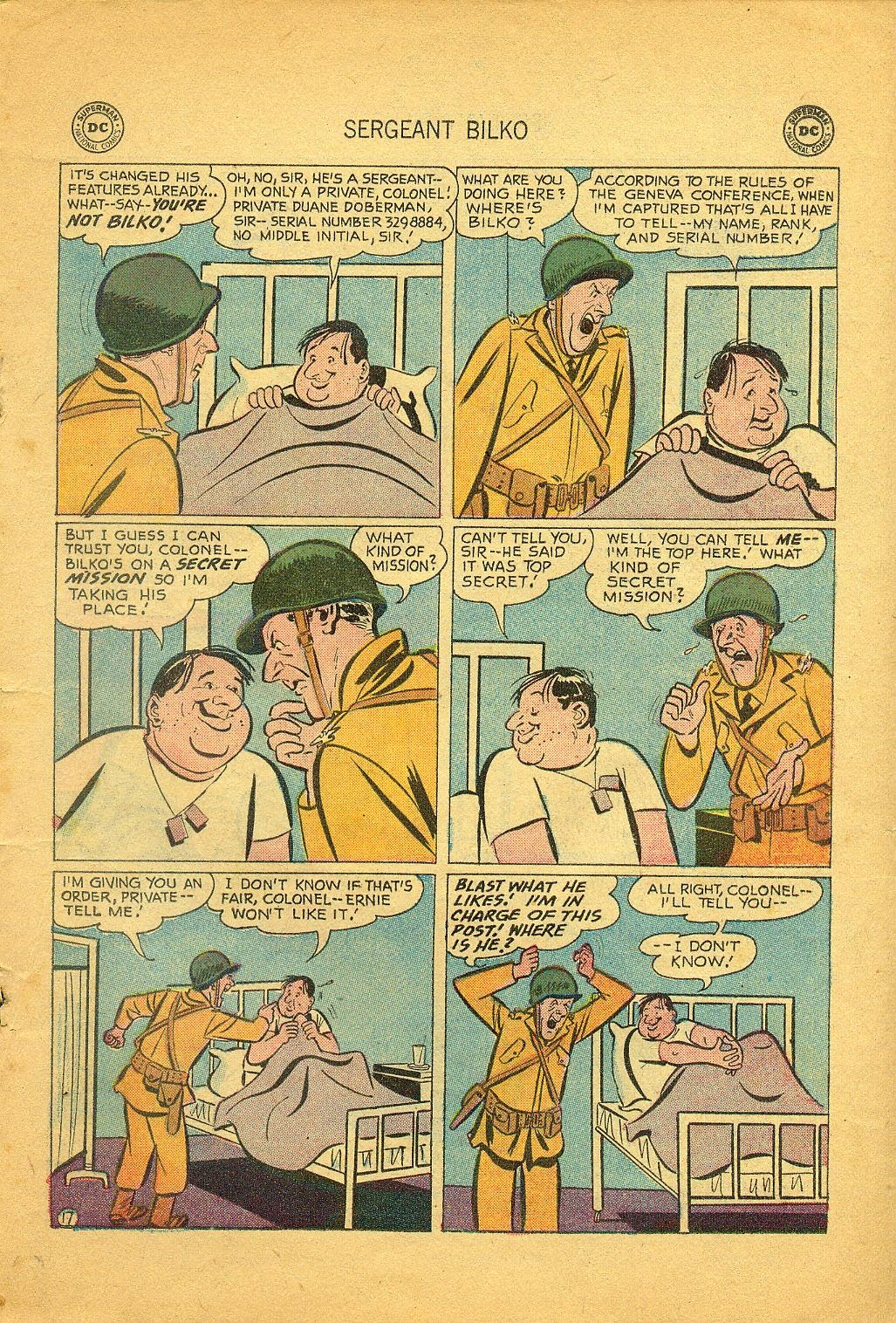 Sergeant Bilko issue 1 - Page 19