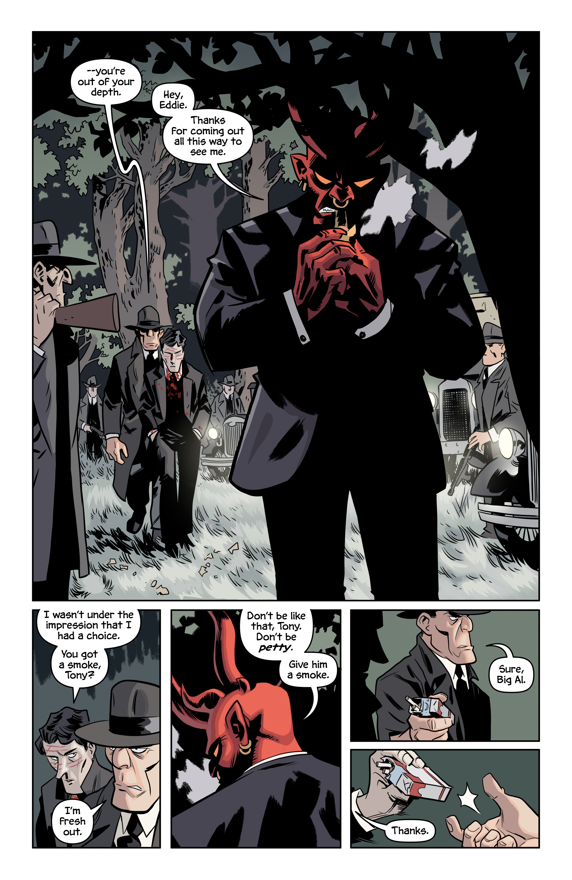 Read online The Damned comic -  Issue #2 - 8