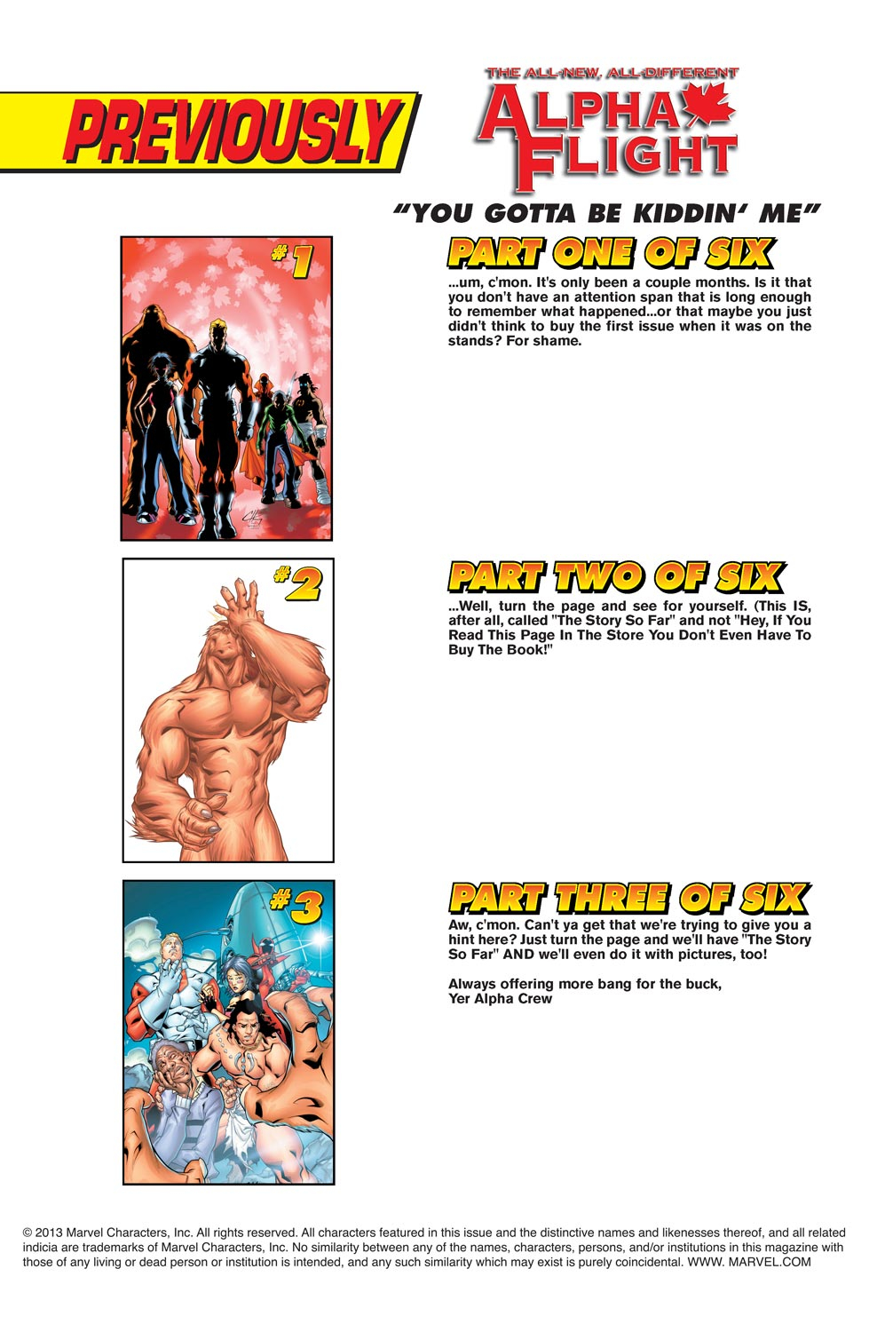 Alpha Flight (2004) issue 4 - Page 2