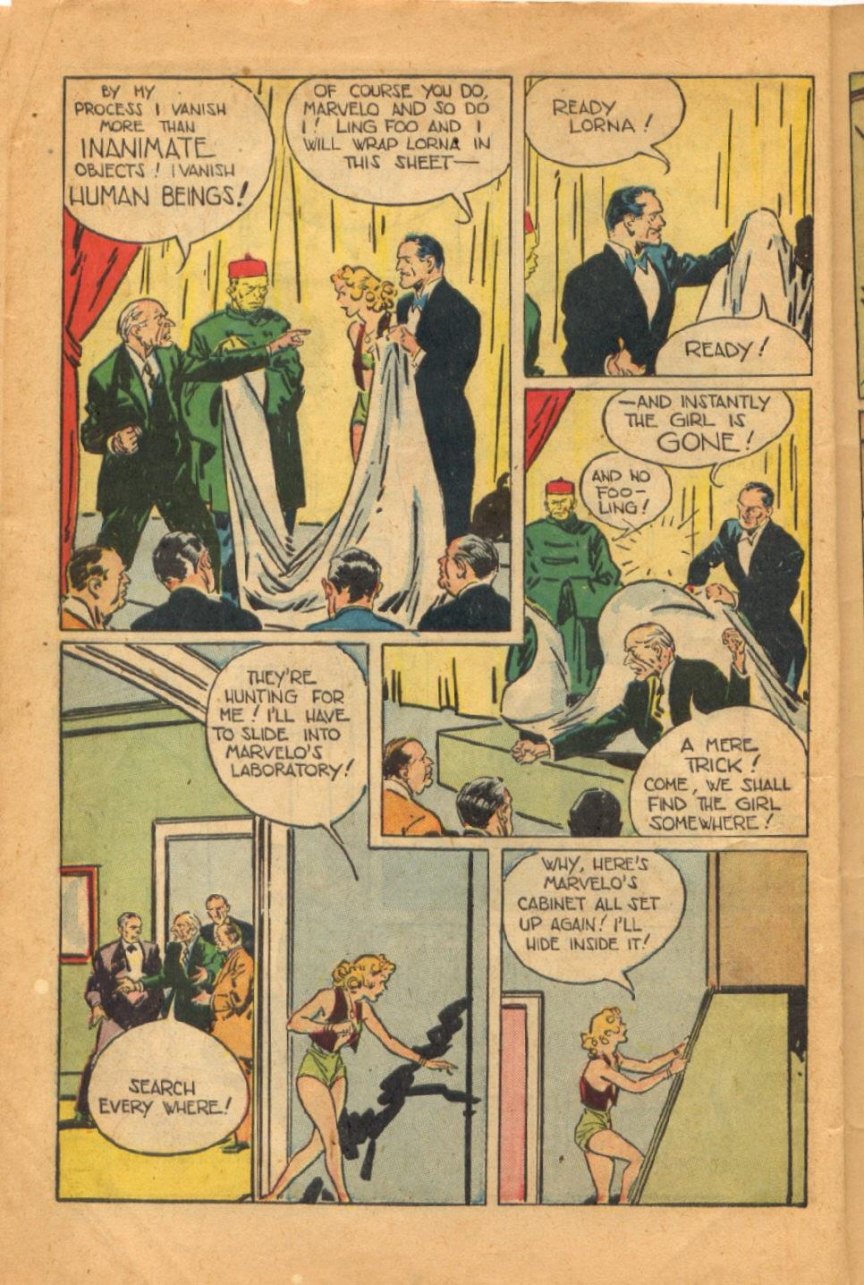 Read online Super-Magician Comics comic -  Issue #52 - 13