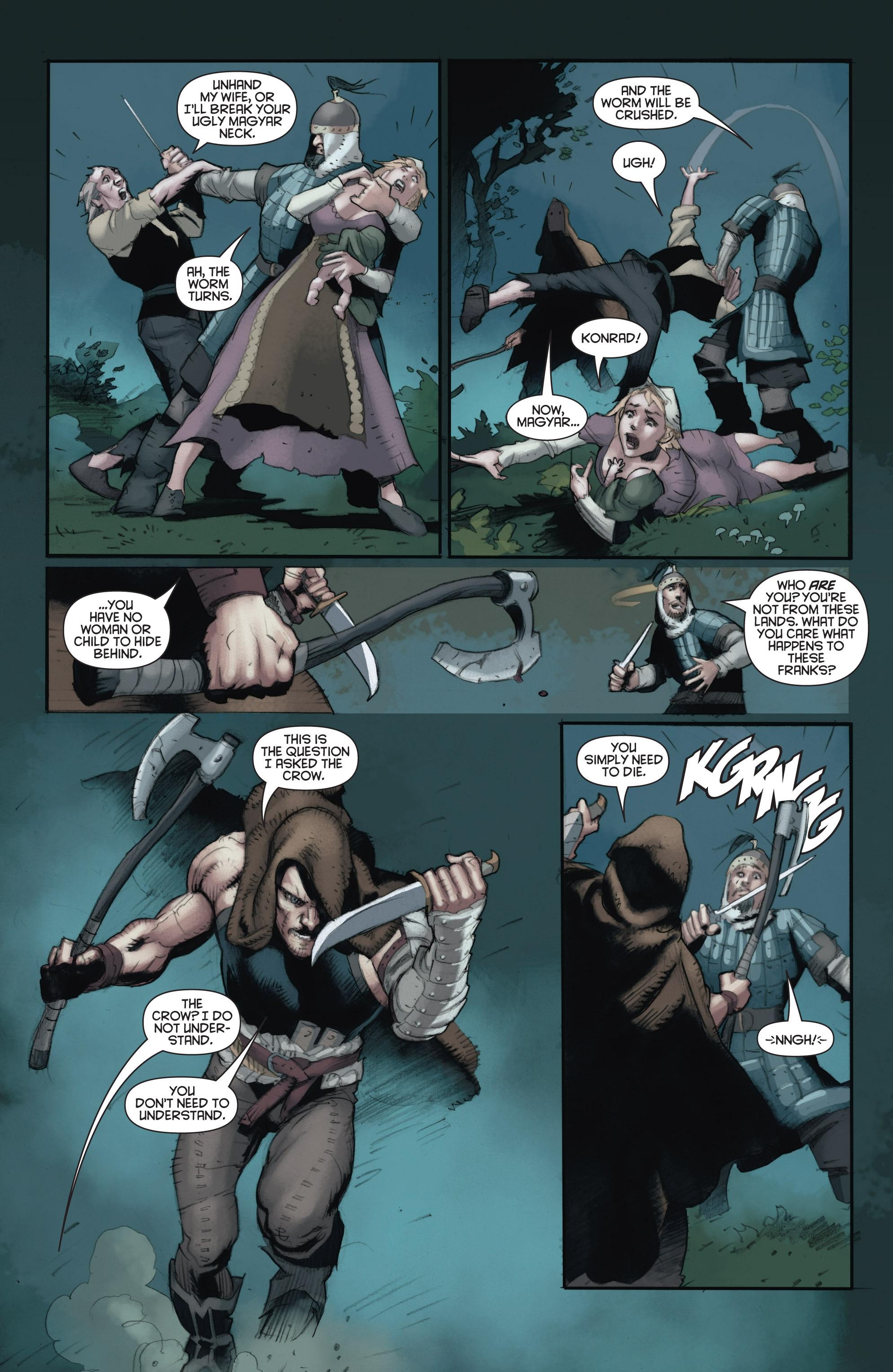Read online Eternal Warrior: Days of Steel comic -  Issue #2 - 4