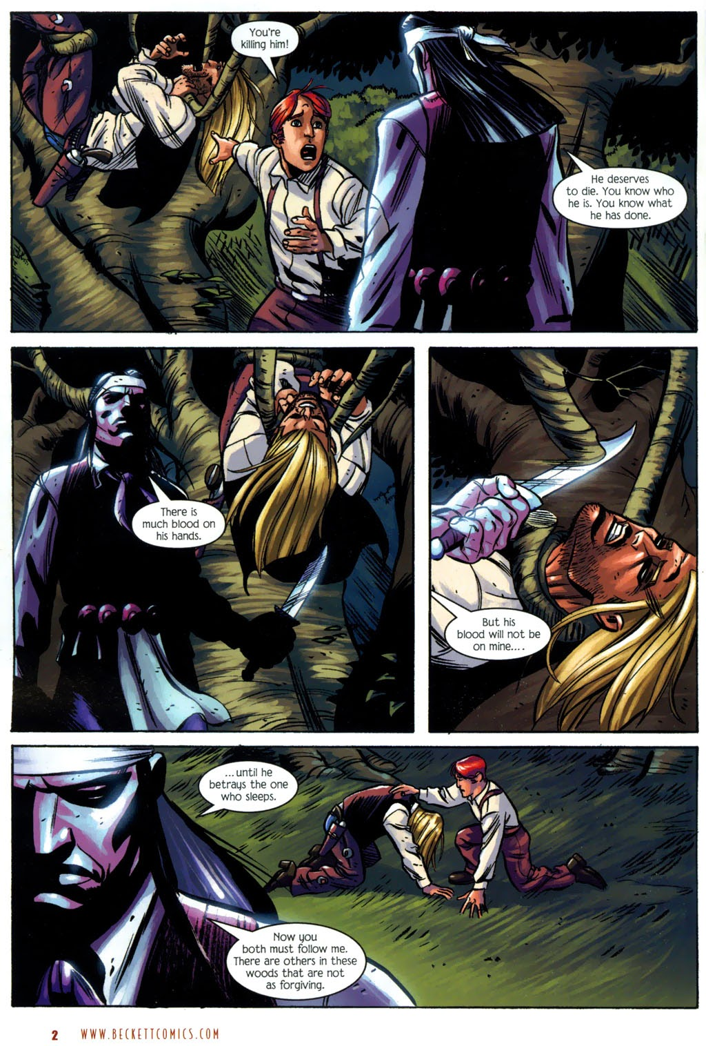 Read online The Ballad of Sleeping Beauty comic -  Issue #7 - 4