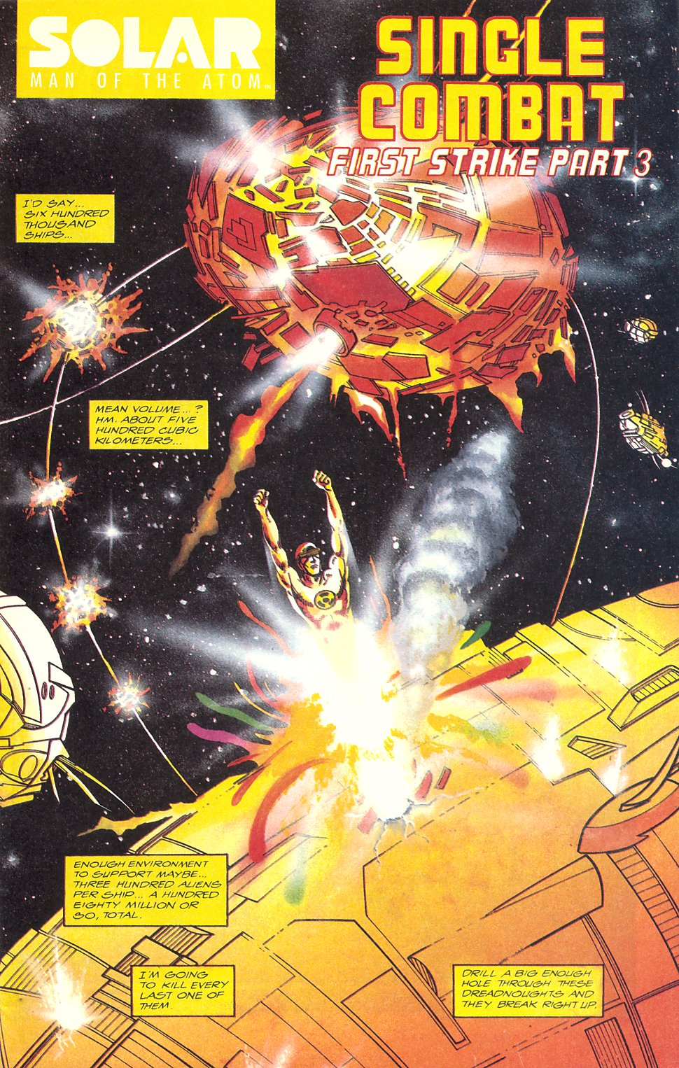 Read online Solar, Man of the Atom comic -  Issue #7 - 3