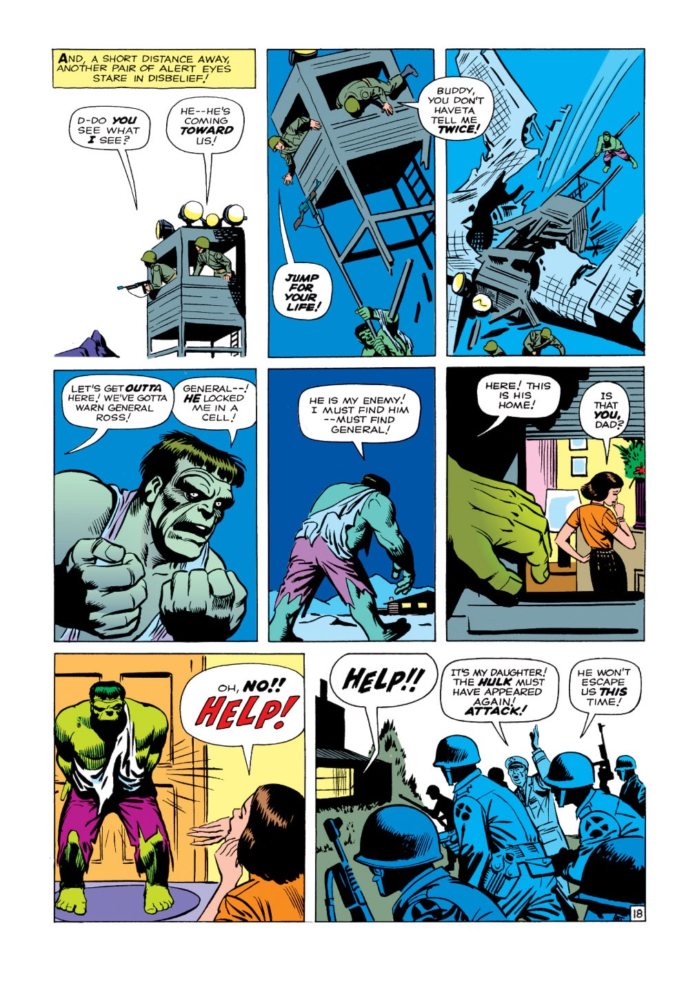 Read online Marvel Masterworks: The Incredible Hulk comic -  Issue # TPB 1 (Part 1) - 46
