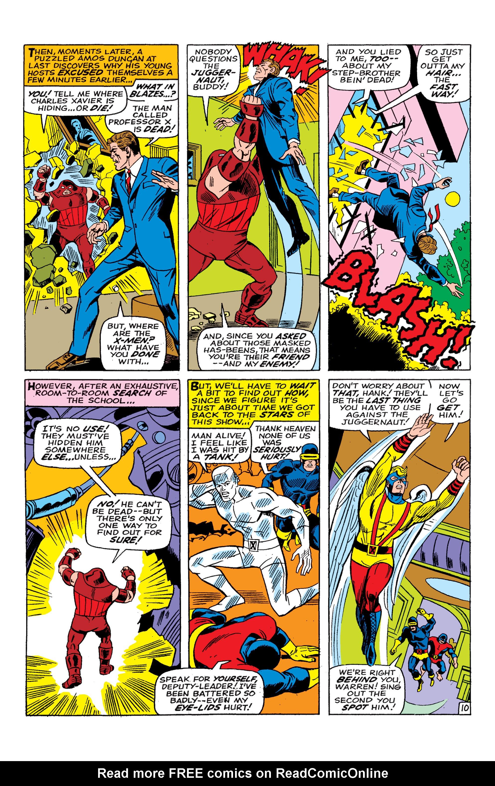 Read online Uncanny X-Men (1963) comic -  Issue #46 - 11