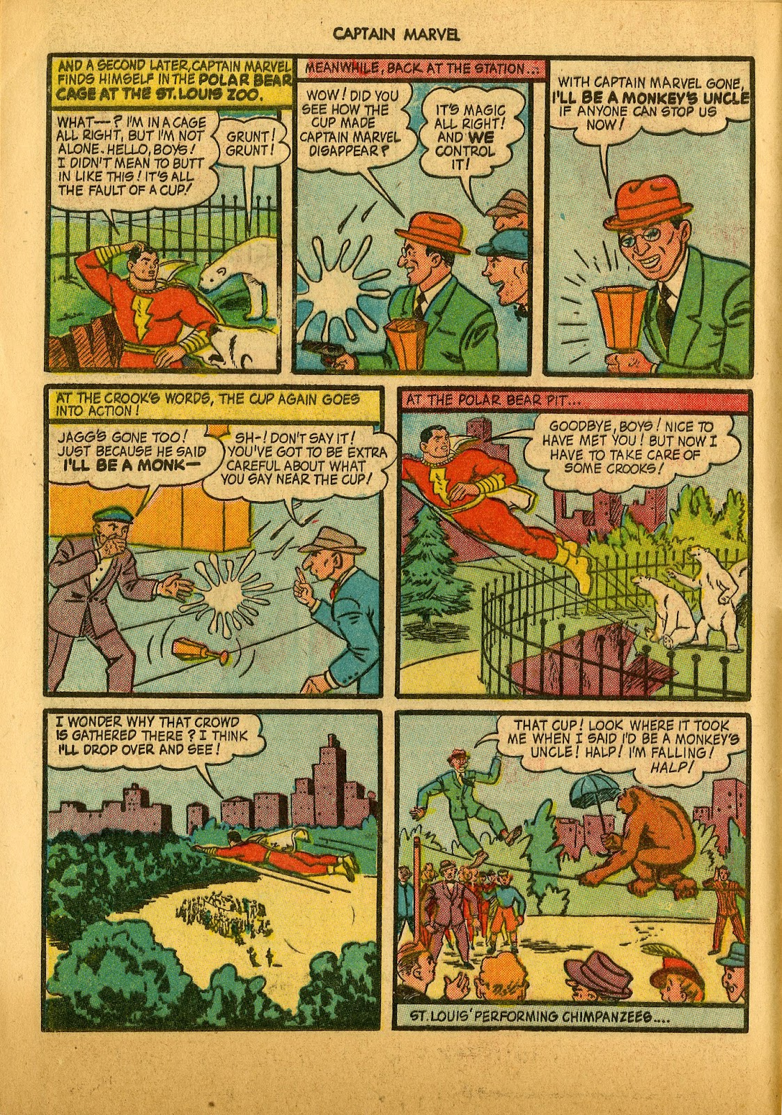 Captain Marvel Adventures issue 36 - Page 8
