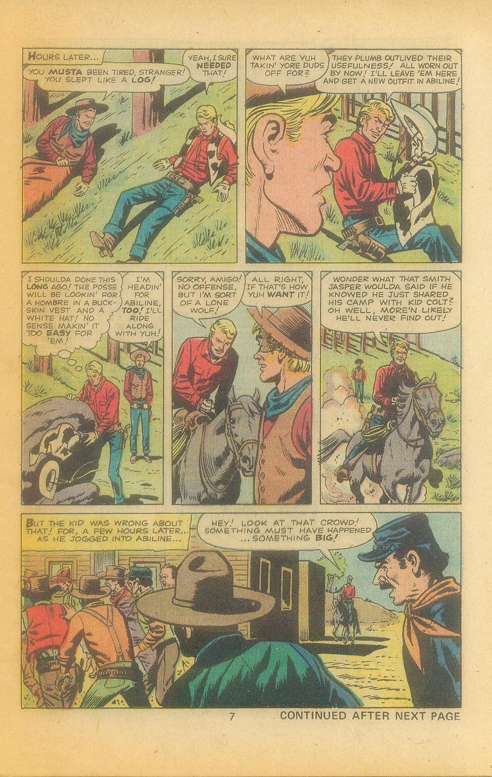 Kid Colt Outlaw issue 197 - Page 9