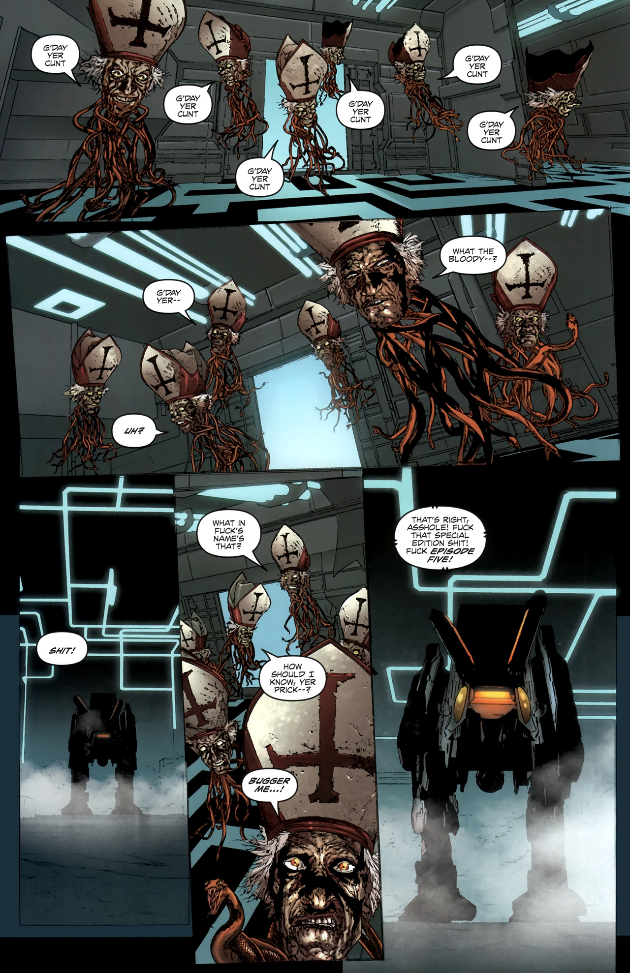 Read online Chronicles of Wormwood: The Last Battle comic -  Issue #6 - 13