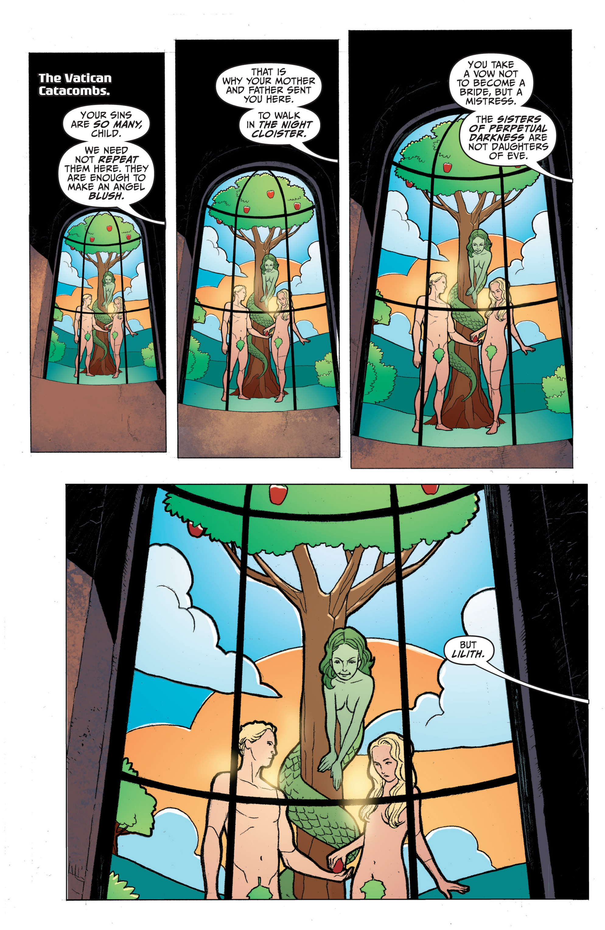 Read online Archer and Armstrong comic -  Issue #Archer and Armstrong _TPB 1 - 54