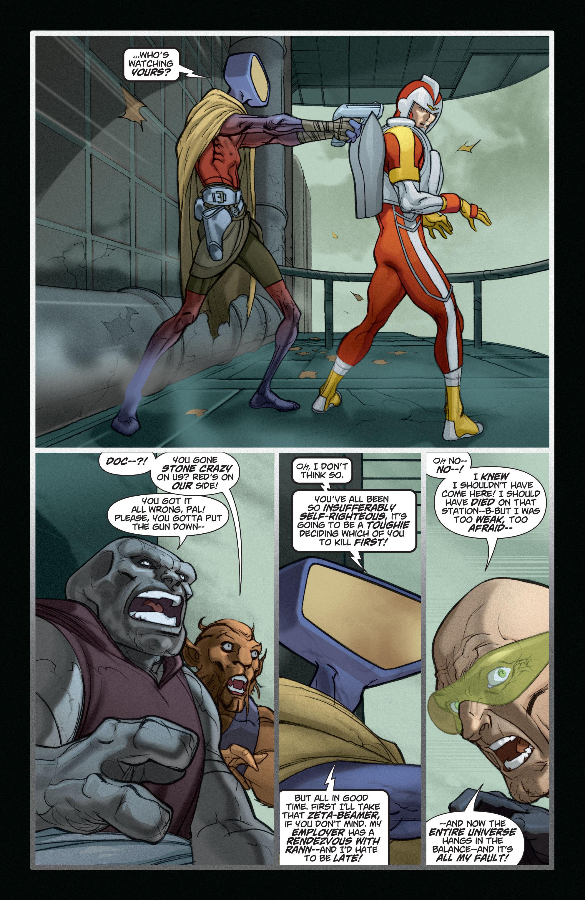 Read online Adam Strange (2004) comic -  Issue #6 - 5