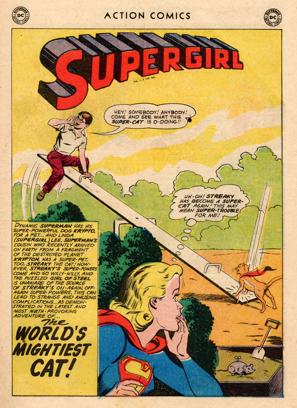 Read online Action Comics (1938) comic -  Issue #266 - 19