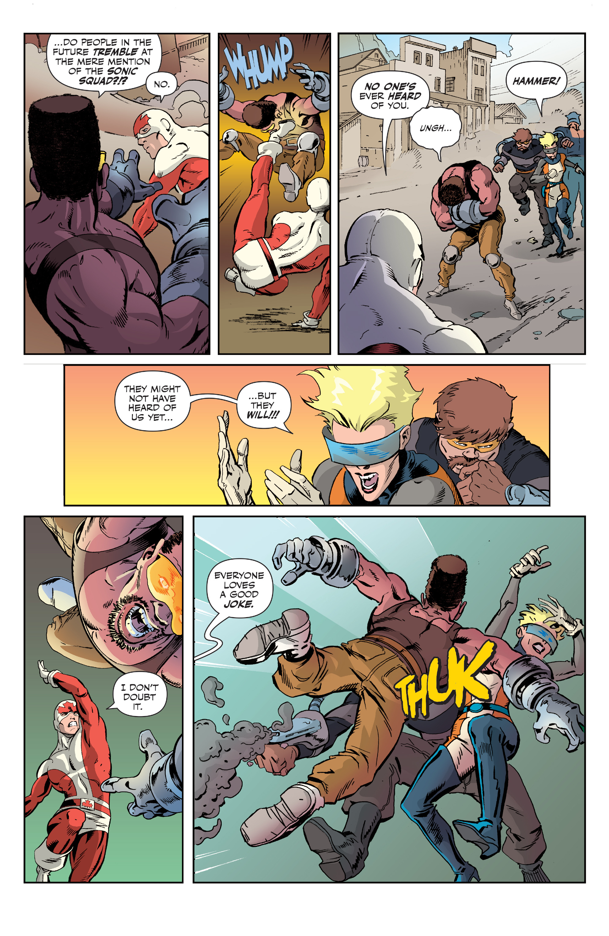 Read online All-New Classic Captain Canuck comic -  Issue #2 - 5