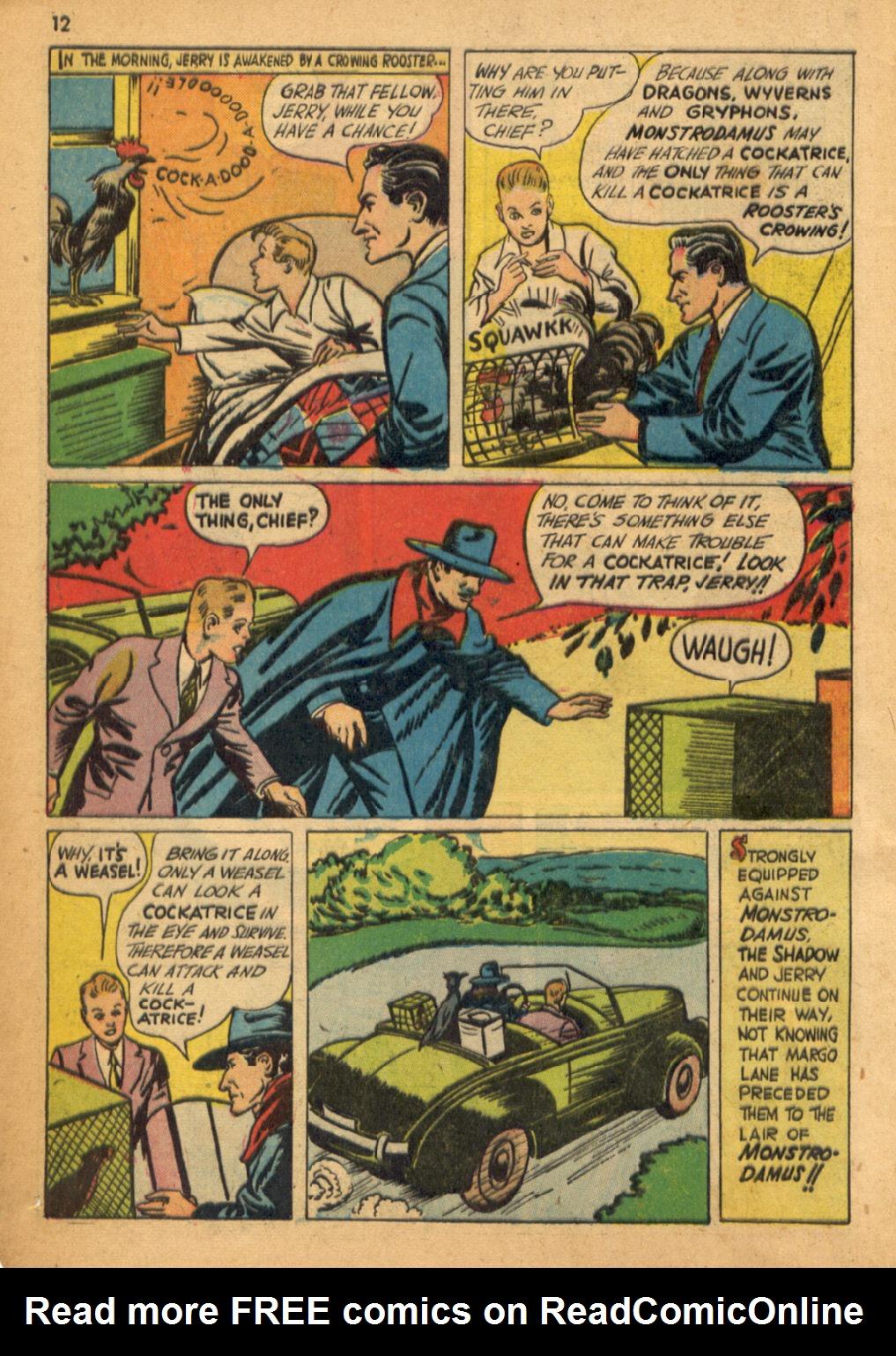 Read online Shadow Comics comic -  Issue #32 - 13