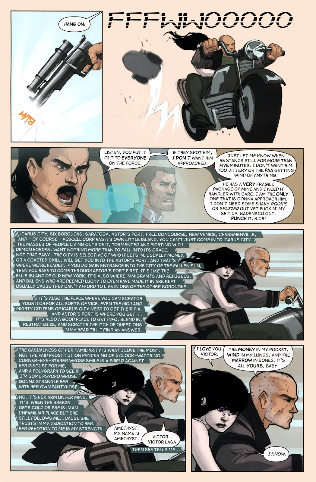 Read online Vescell comic -  Issue #7 - 11