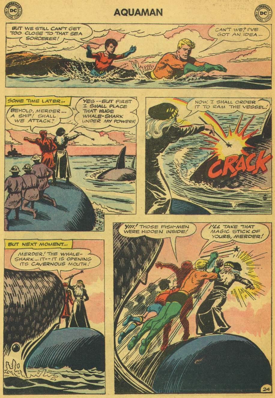 Read online Aquaman (1962) comic -  Issue #5 - 30