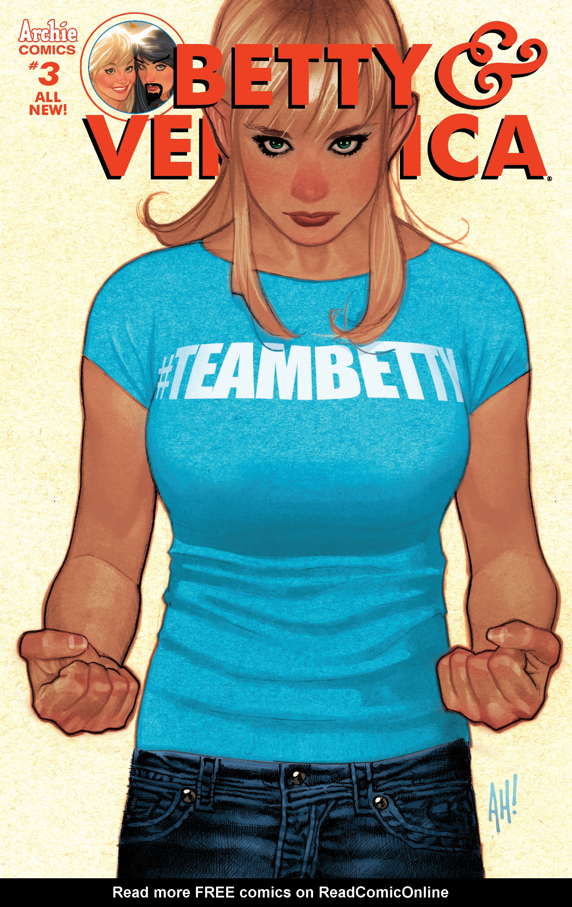 Read online Betty and Veronica (2016) comic -  Issue #3 - 1