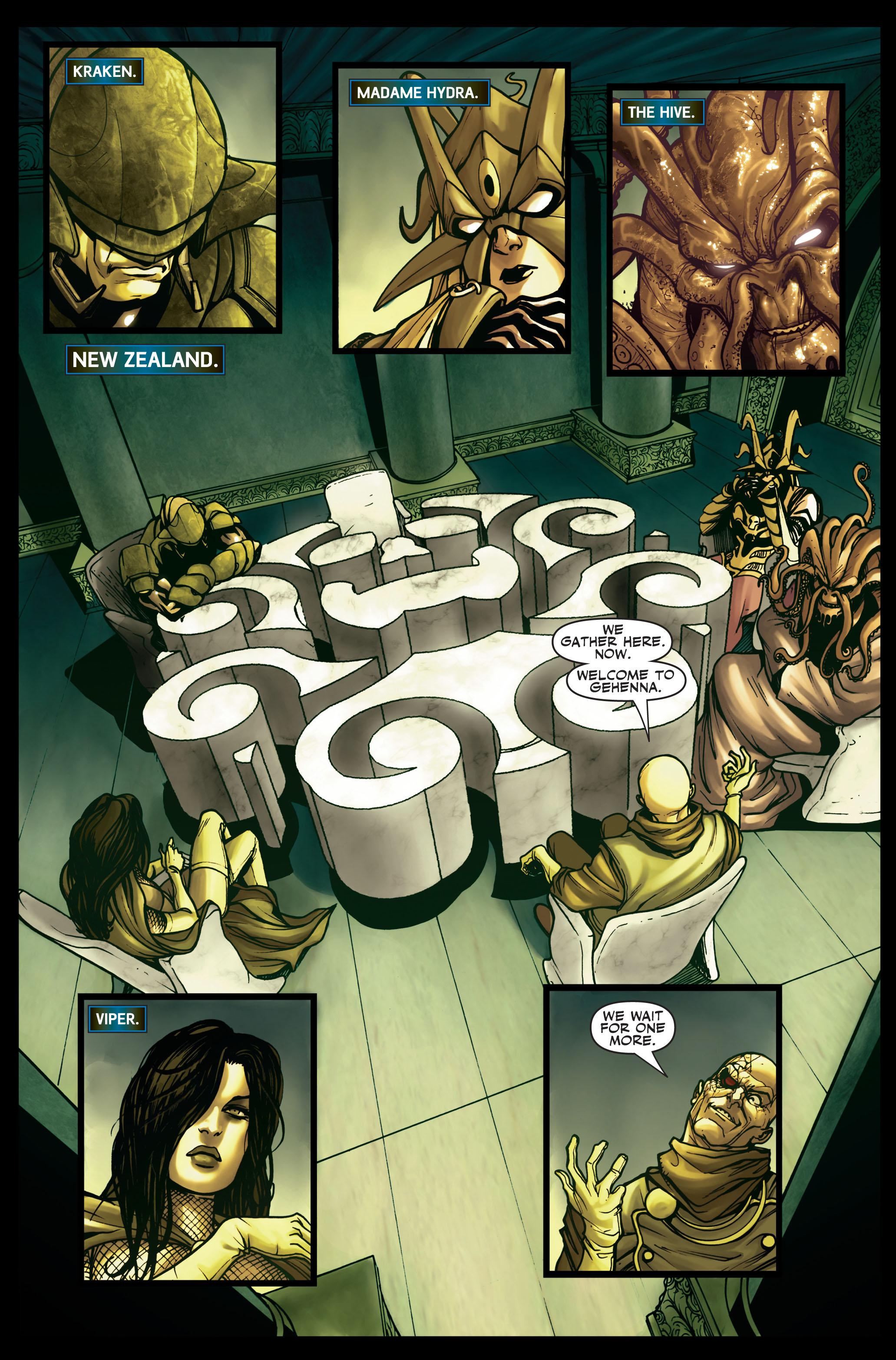 Read online Secret Warriors comic -  Issue #2 - 19