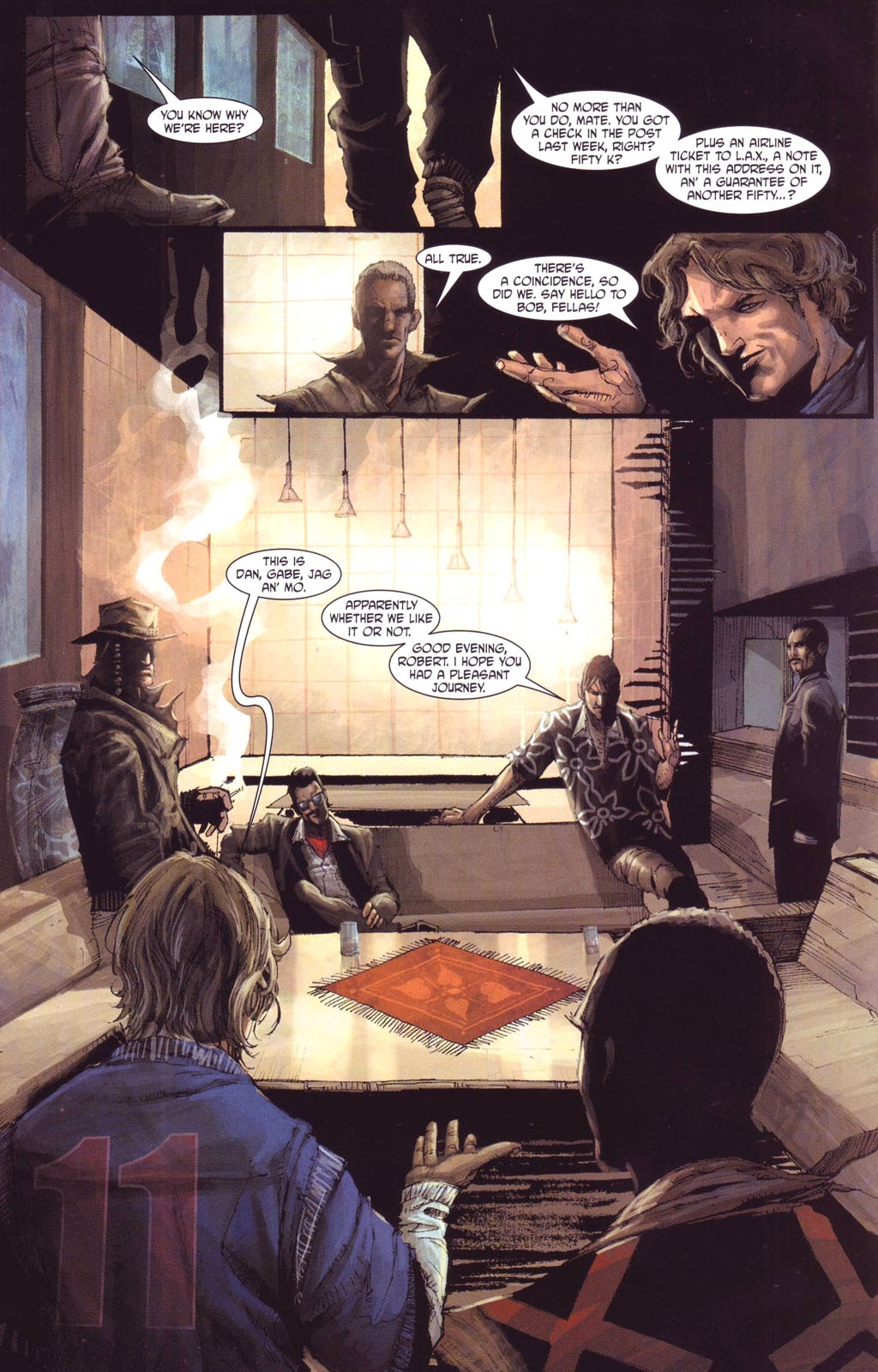 7 Brothers issue 1 - Page 11