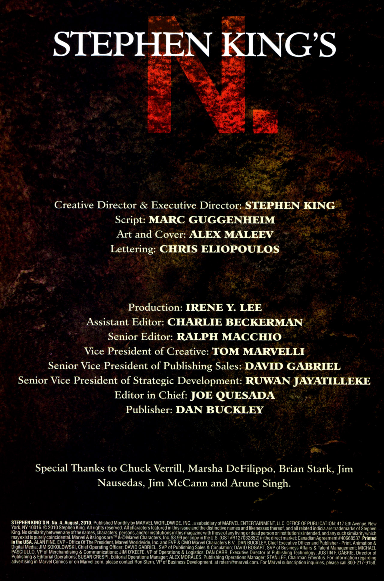 Read online Stephen King's N. comic -  Issue #4 - 2