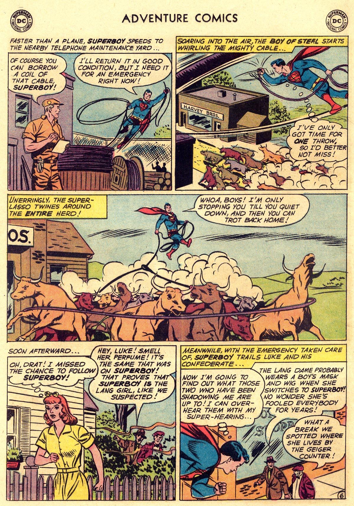 Read online Adventure Comics (1938) comic -  Issue #297 - 8